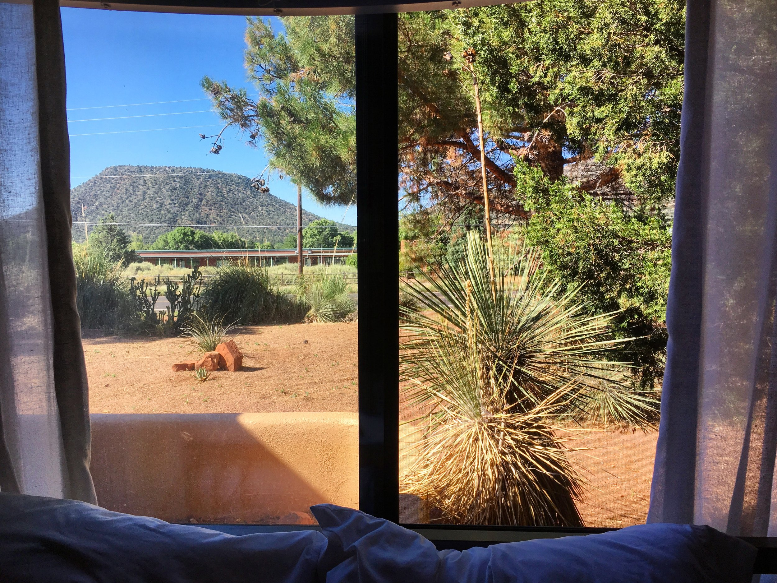 One last Airbnb in Sedona.