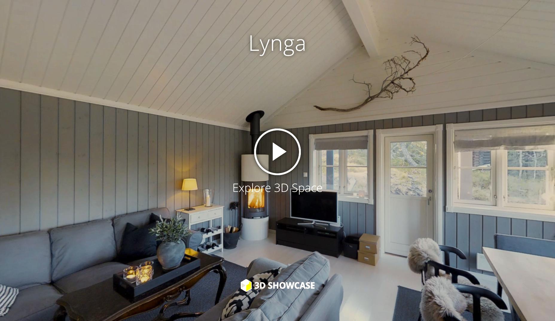 Hytte på Lynga