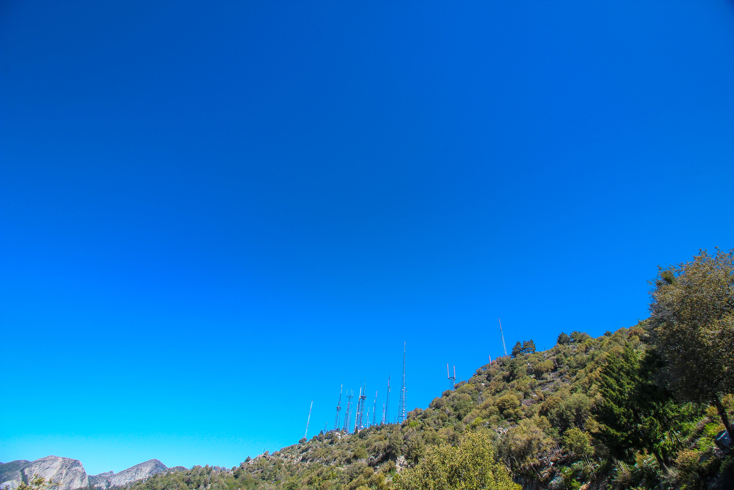 Mt. Wilson Antennas.