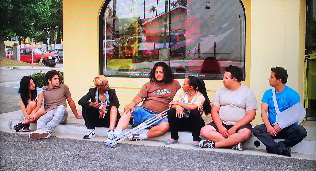 Dos Gallos Tees in Taco Shop Movie