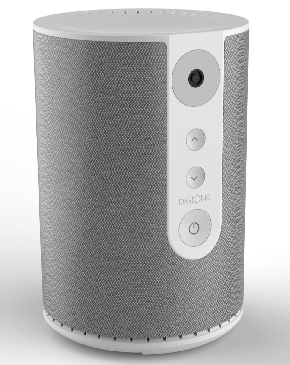 New cylindrical DigiSpeaker design.