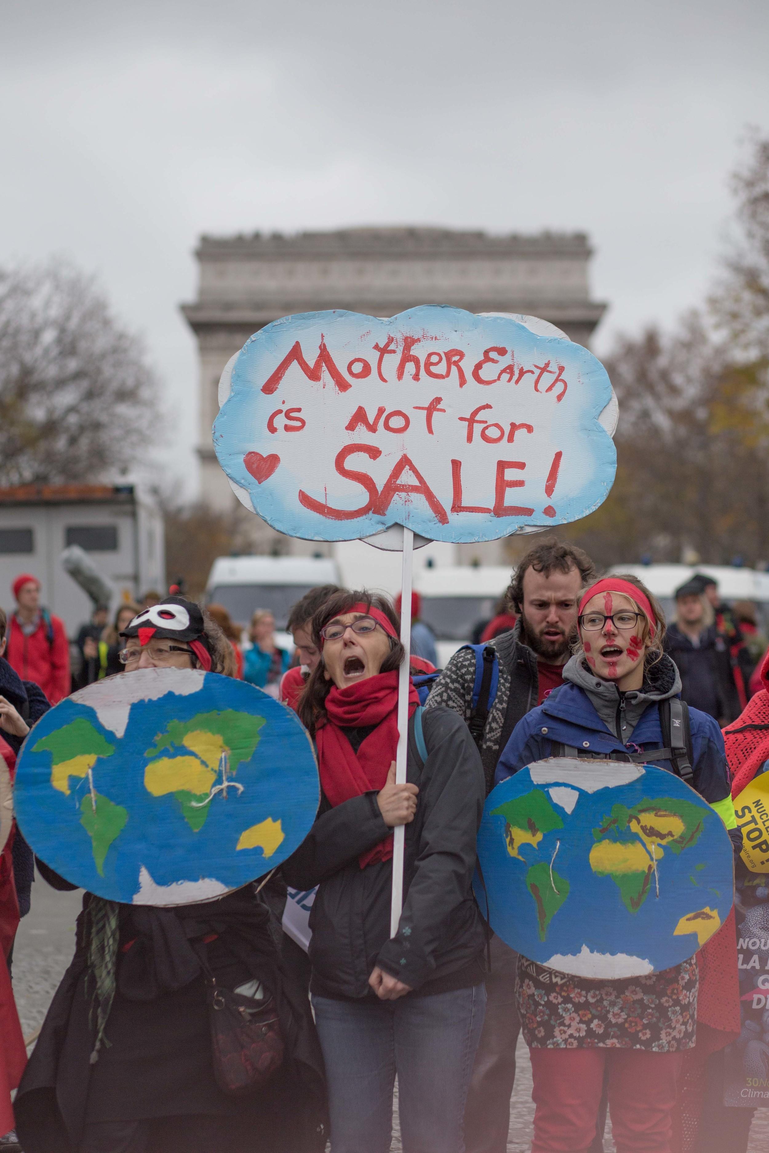 Cop 21 Climate Change March