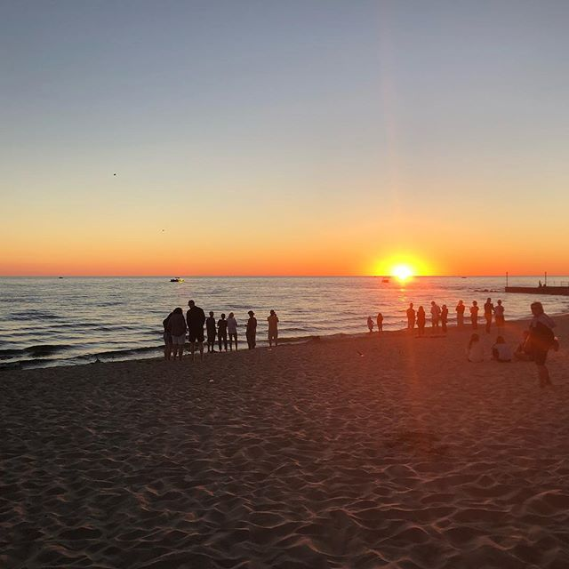 A beach on Lake Michigan.  what??? I had no Idea. This place is so awesome!! #maranatha #beautifulsunset
