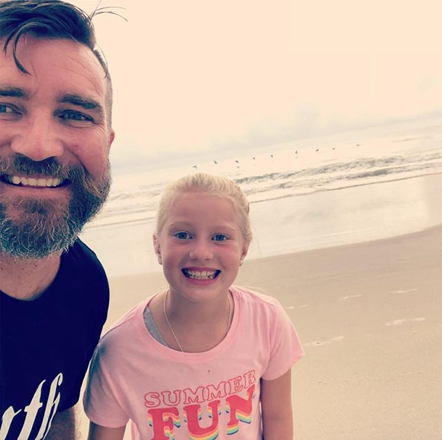 Spent the weekend with this beauty in Ormond beach FL. Worshipped with our Florida church family @saltychurch and stayed with our dear friends the Potsick's! We love you guys, thank you for a wonderful weekend!