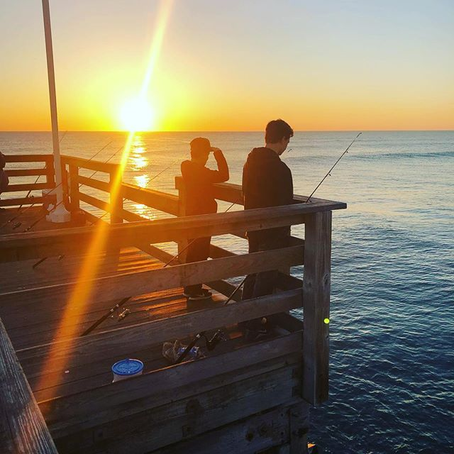 The only time it's ok to wake up at 6am on vacation is when you're going fishing!!
