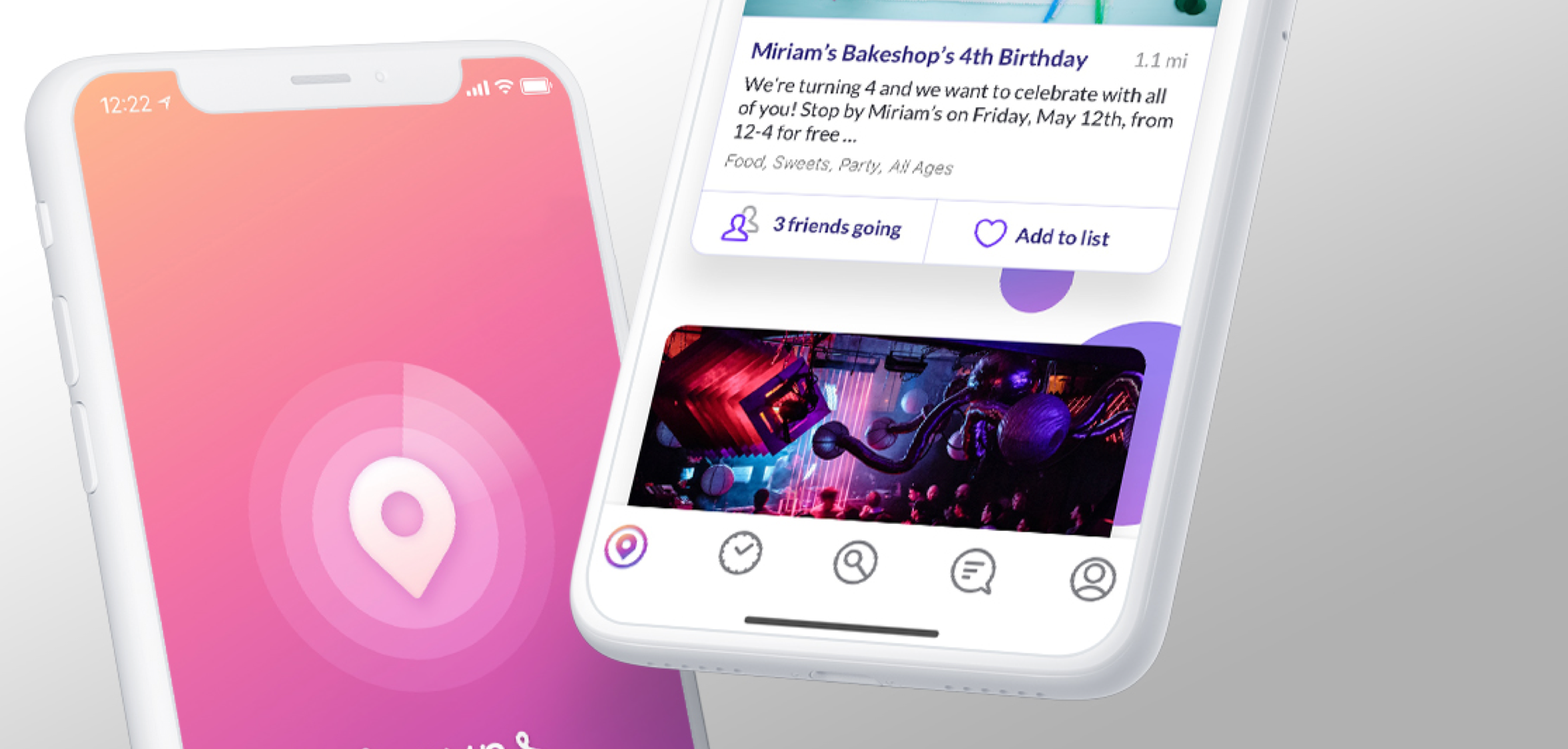 OVERVIEW_ - SewnR is a mobile social event mapping app. In the Spring of 2017 I was approached by the CEO of SewnR to perform a full redesign of the app for a V2 release.