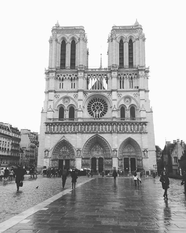 A little over 3 years ago, we were lucky enough to see it and climb its towers... #NotreDame