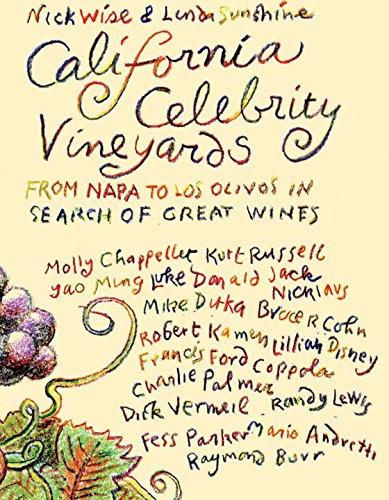 California Celebrity Vineyards Book Cover