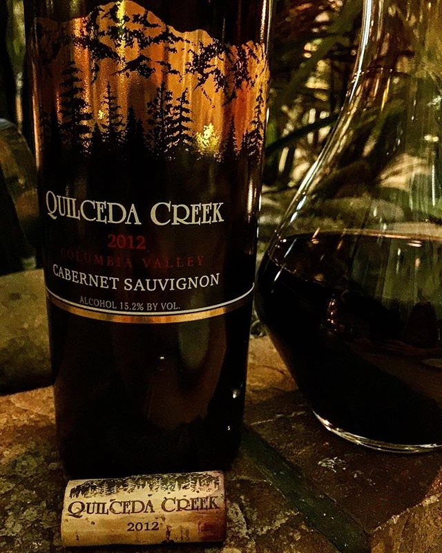 @quilcedacreek #cabernetsauvignon #2012redwine #columbiavalley  Reminds me of a great second growth, similar to superb vintage of Leoville Las Cases. Sublime nose of pencil lead, black cherry and ultra ripe raspberries. On the palate it's  mind blowing, packed with red and black fruits, integrated oak and flavours that range from tropical to forest floor- it's super concentrated, yet it's also light on its feet. A conundrum of weight vs lightness, it's one of those wines in the world that pure concentration defies gravity. It's rich, elegant, floral and obscurely long on the finish. In my opinion it's one of the worlds best new world Cabernet wines.