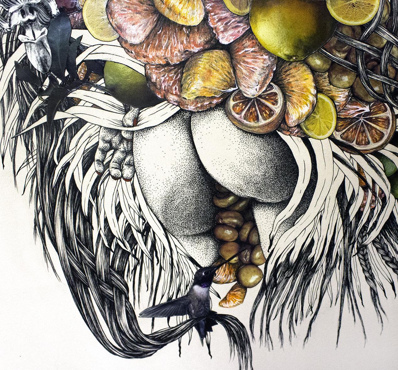 My Citrus Mistress (detail)