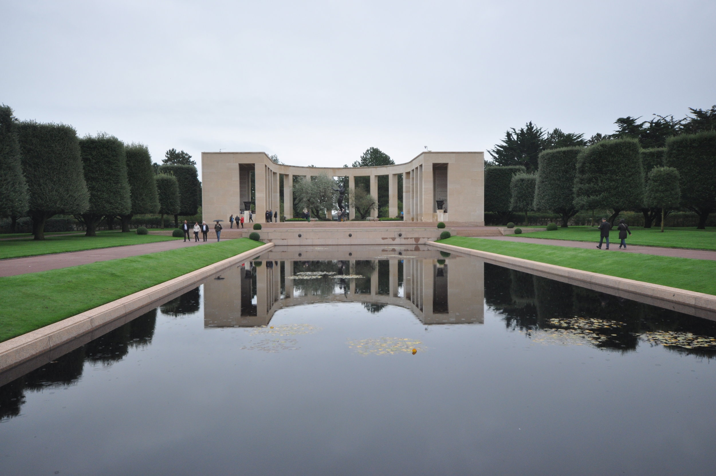 The Normandy American Cemetary