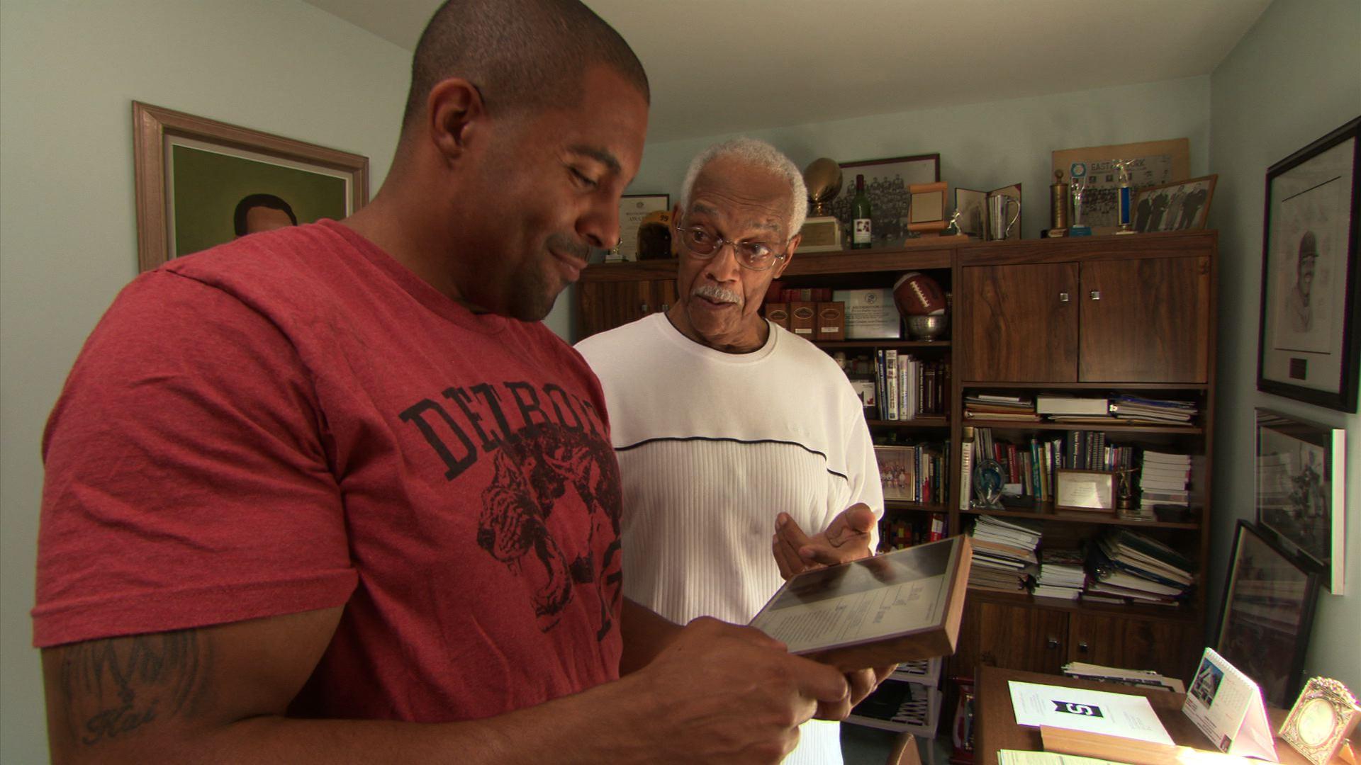 John Williams Jr. and Bernie Custis