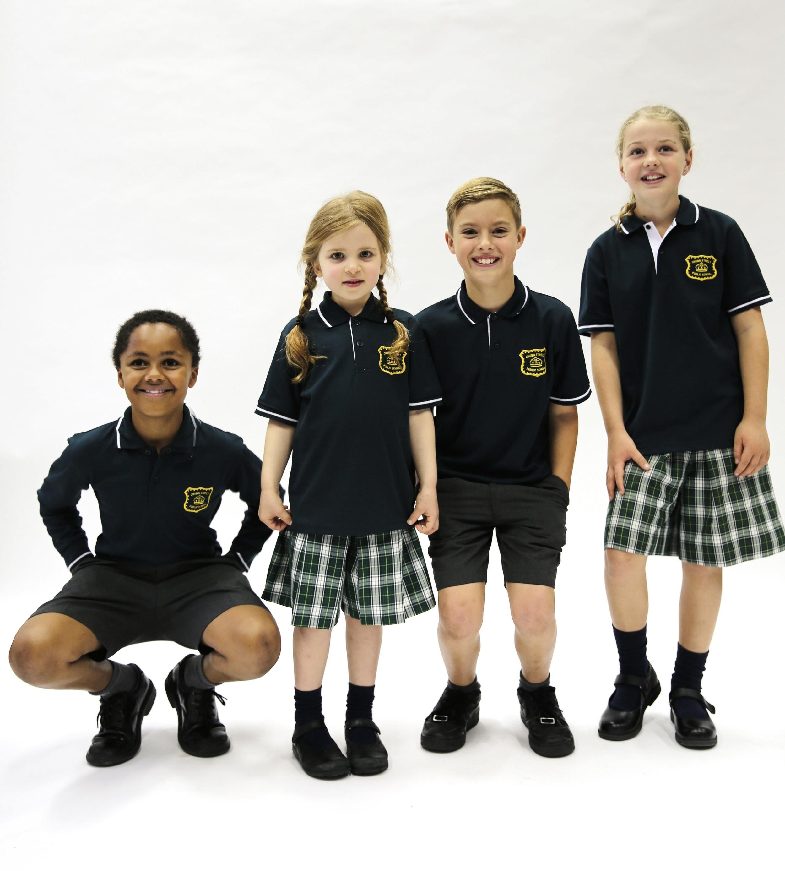 Summer Uniforms worn with navy socks