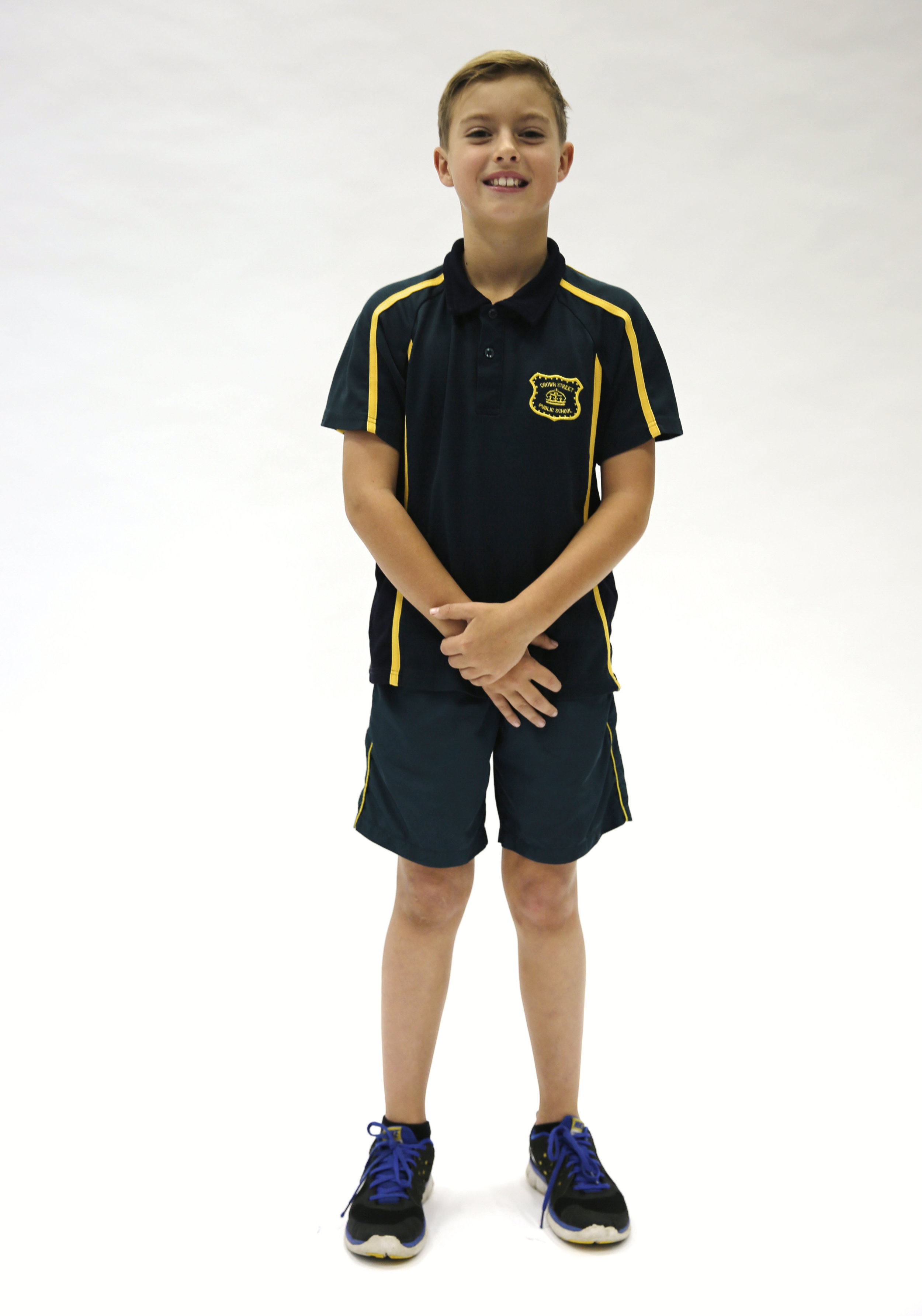 Sports polo, sports shorts - unisex