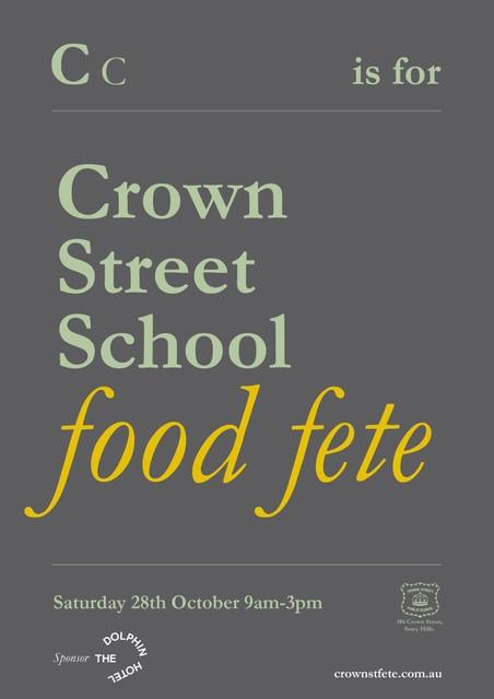 Crown Street Food Fete