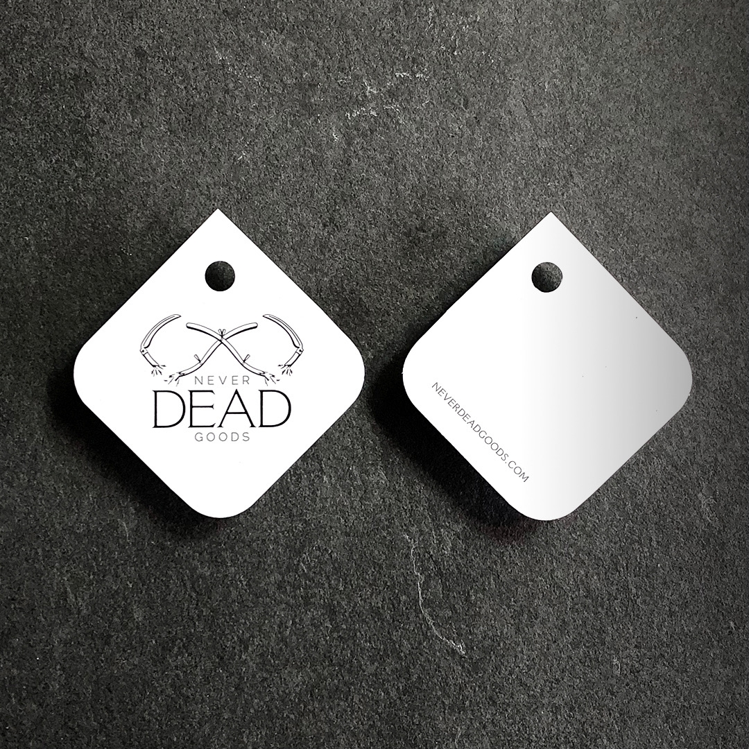 hang tag front and back
