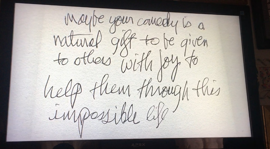 Garry Shandling, from  The Zen Diaries of Garry Shandling , directed by Judd Apatow