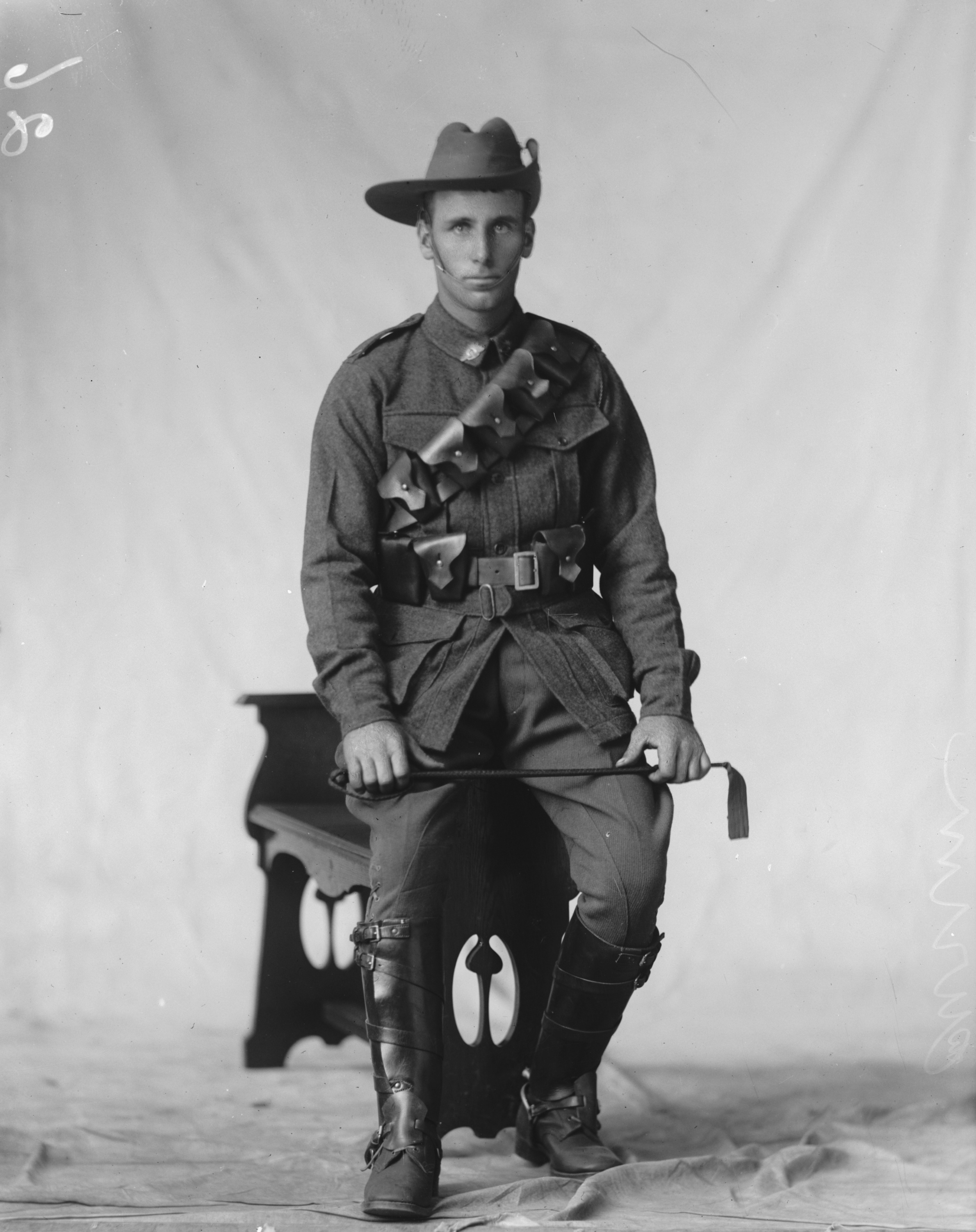Photographed at the Dease Studio, 117 Barrack Street Perth WA Image courtesy of the State Library of Western Australia:108186PD