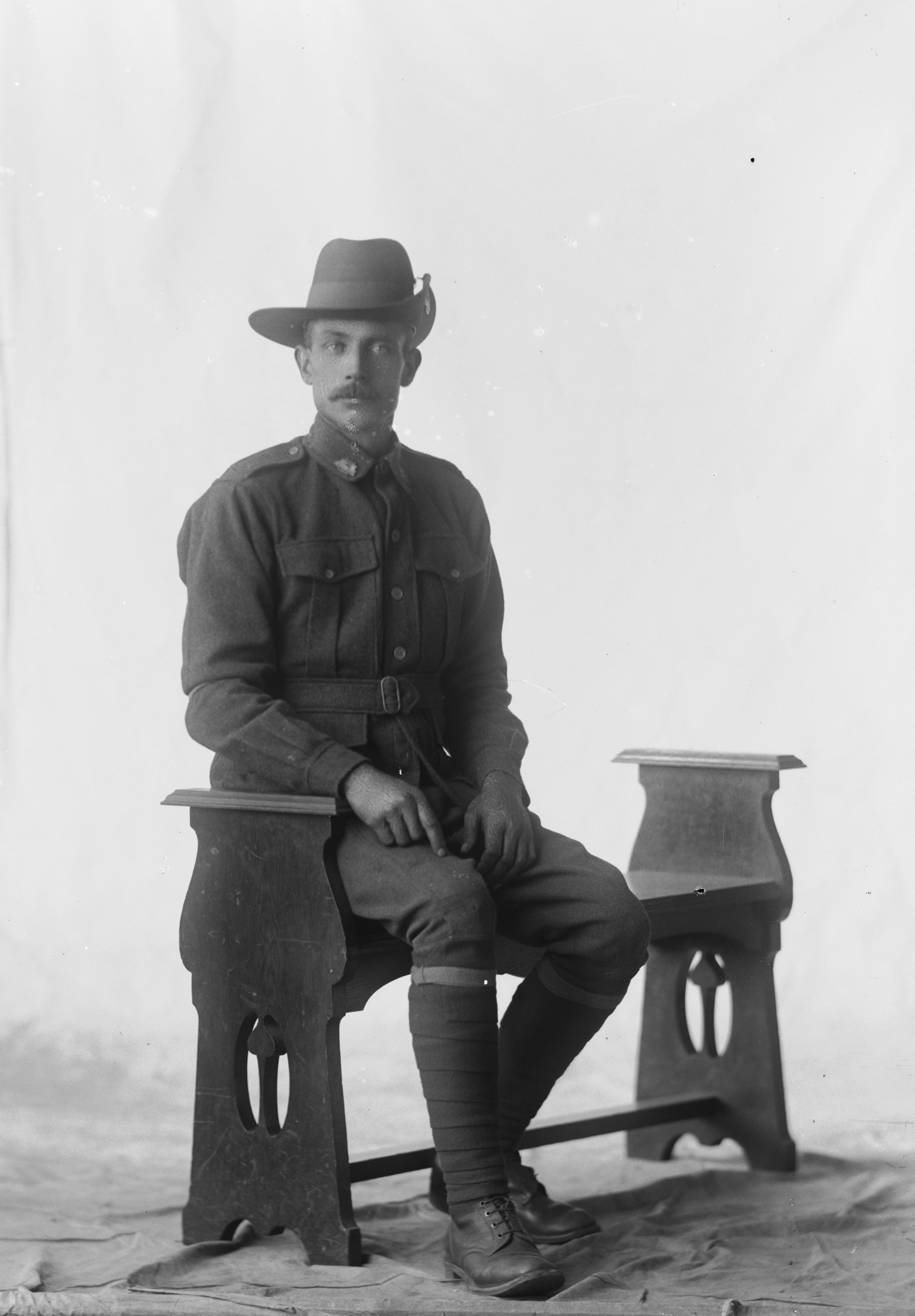 Photographed at the Dease Studio, 117 Barrack Street Perth WA Image courtesy of the State Library of Western Australia:108007PD