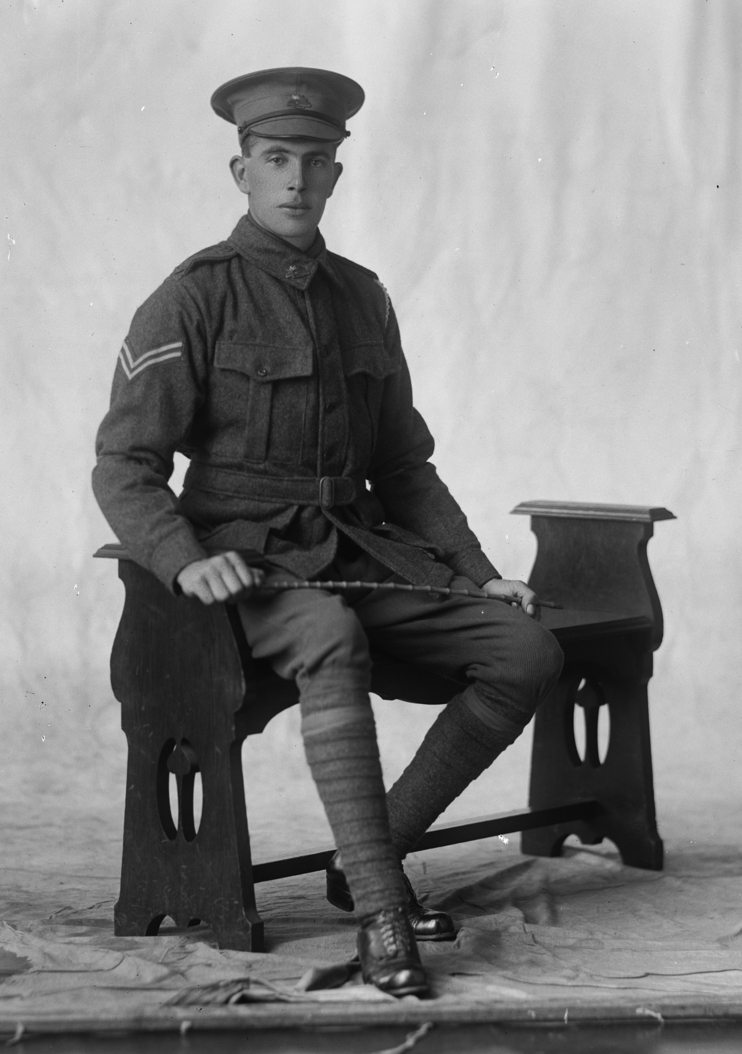 Photographed at the Dease Studio, 117 Barrack Street Perth WA Image courtesy of the State Library of Western Australia:108320PD