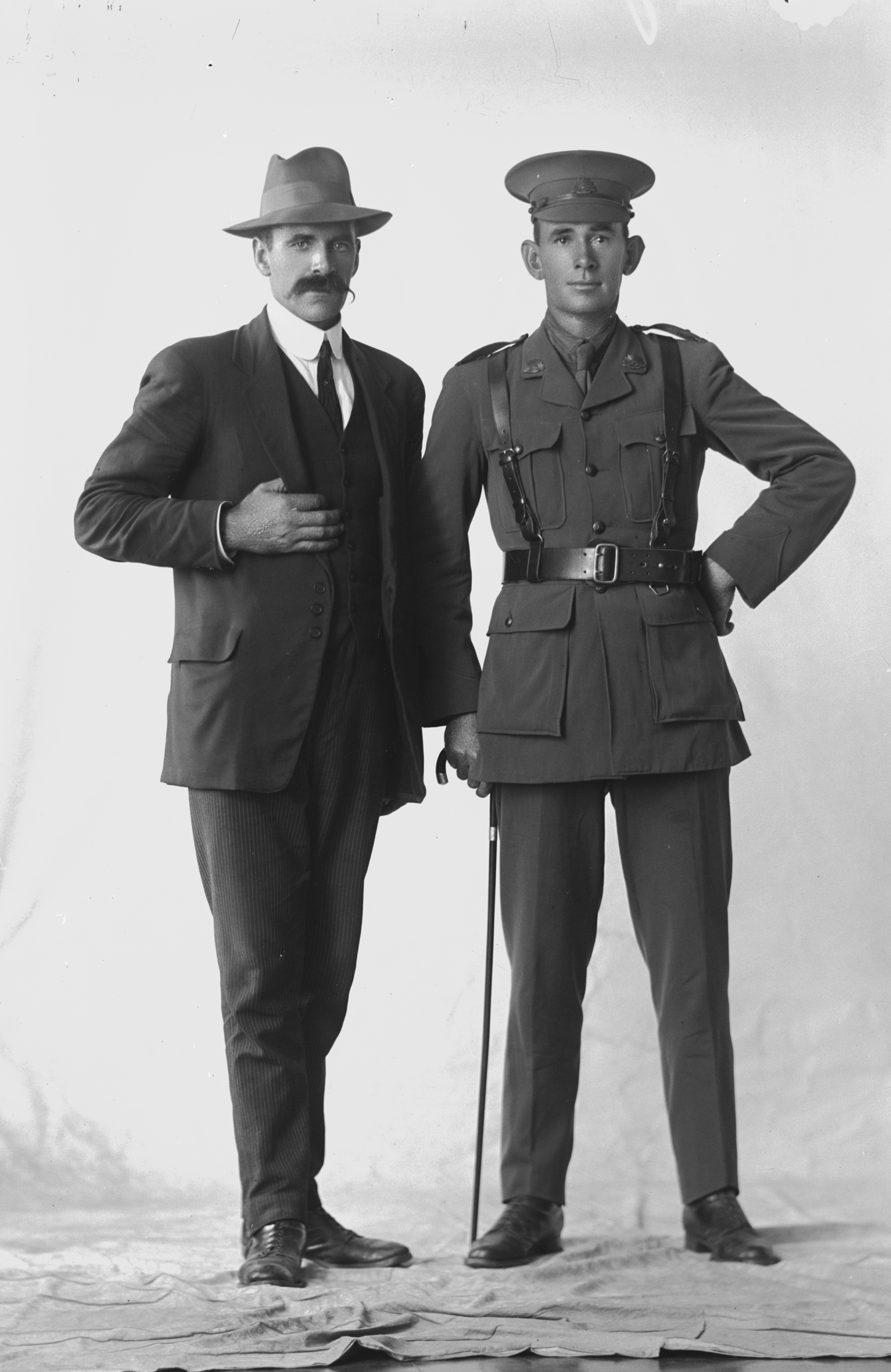 Photographed at the Dease Studio, 117 Barrack Street Perth WA Image courtesy of the State Library of Western Australia: 108709PD