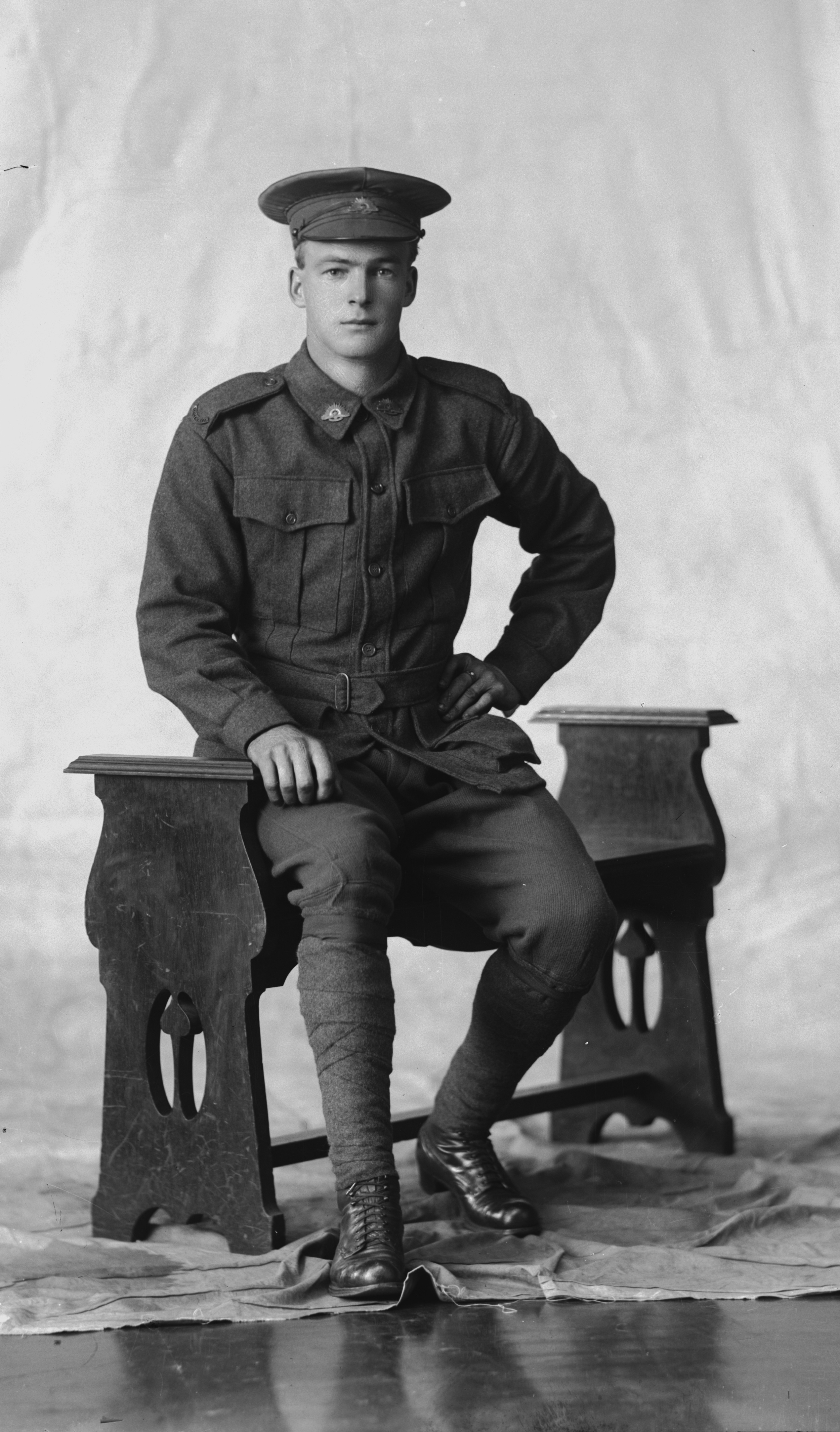 Photographed at the Dease Studio, 117 Barrack Street Perth WA Image courtesy of the State Library of Western Australia: 108294PD