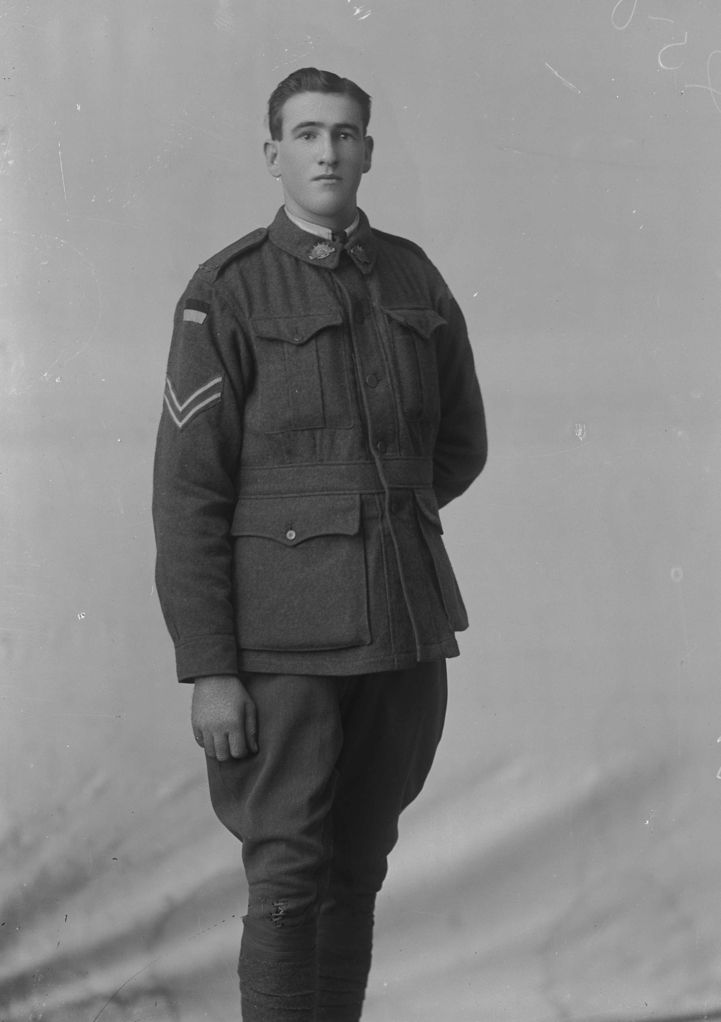 Photographed at the Dease Studio, 117 Barrack Street Perth WA Image courtesy of the State Library of Western Australia: 108051PD