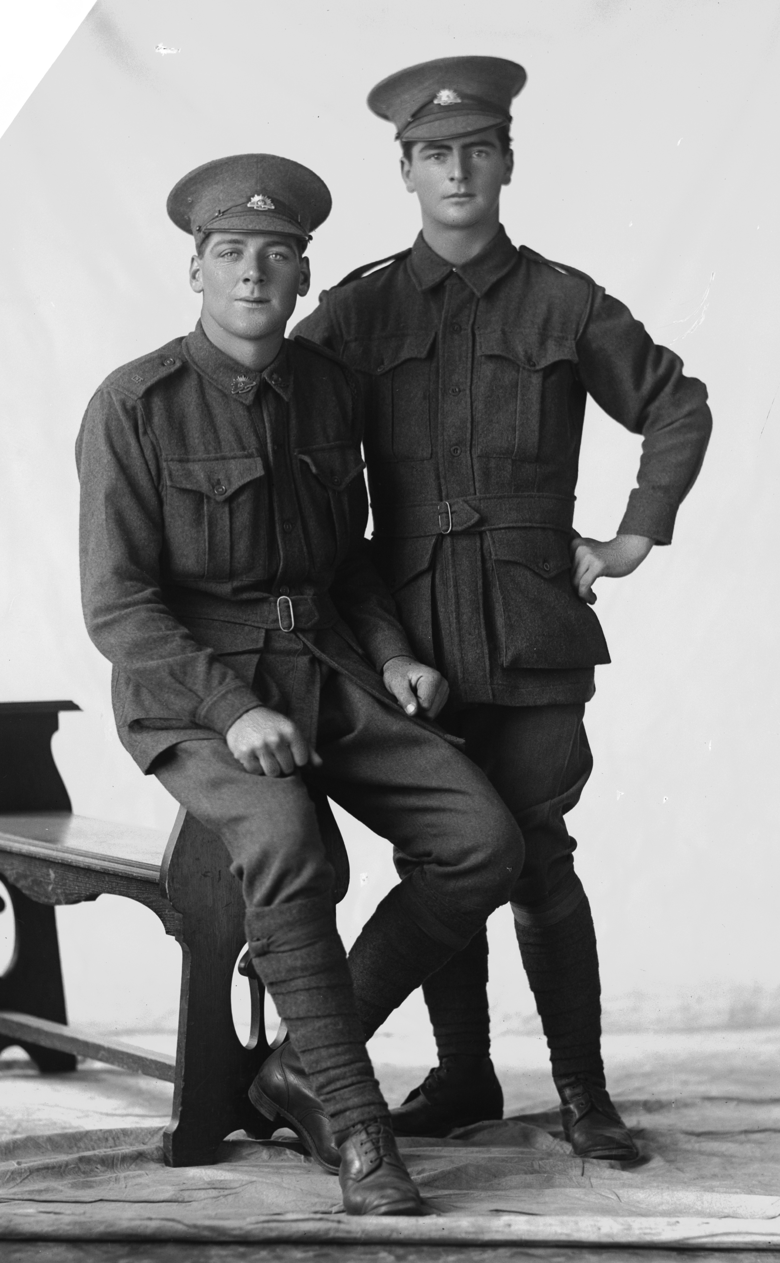 Photographed at the Dease Studio, 117 Barrack Street Perth WA Image courtesy of the State Library of Western Australia: 108347PD