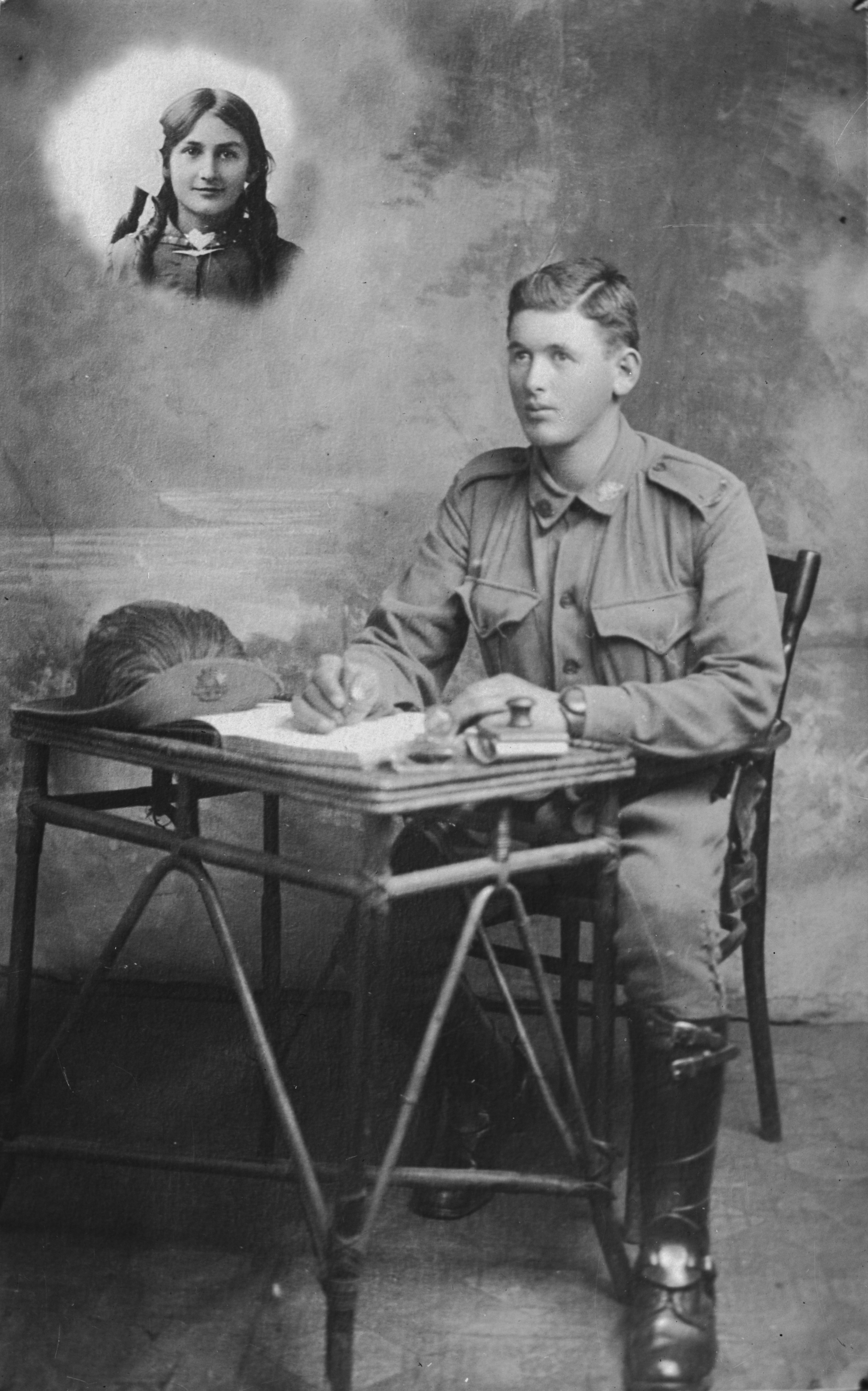 Photographed at the Dease Studio, 117 Barrack Street Perth WA Image courtesy of the State Library of Western Australia: 108050PD
