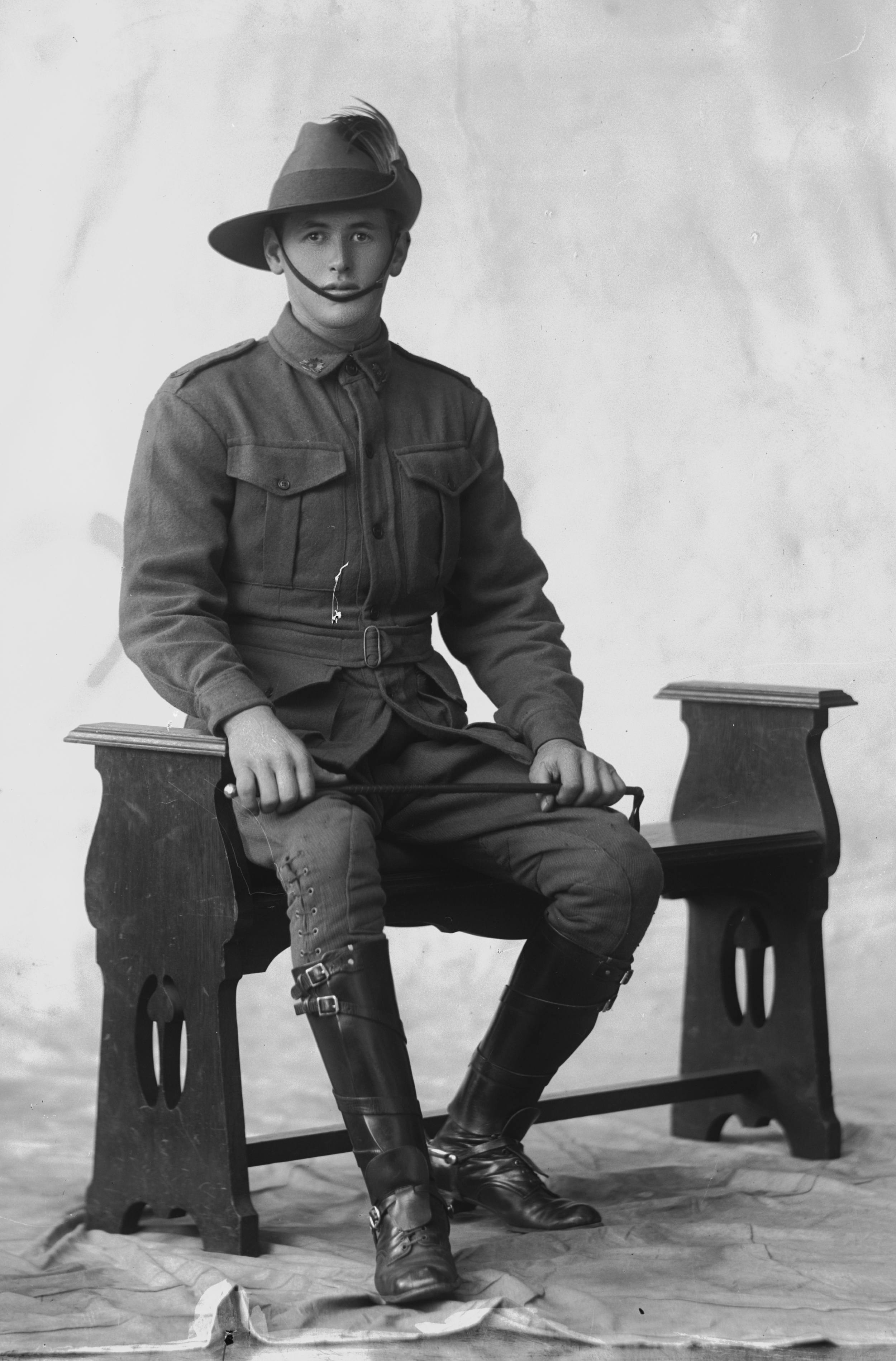 Photographed at the Dease Studio, 117 Barrack Street Perth WA Image courtesy of the State Library of Western Australia: 108514PD
