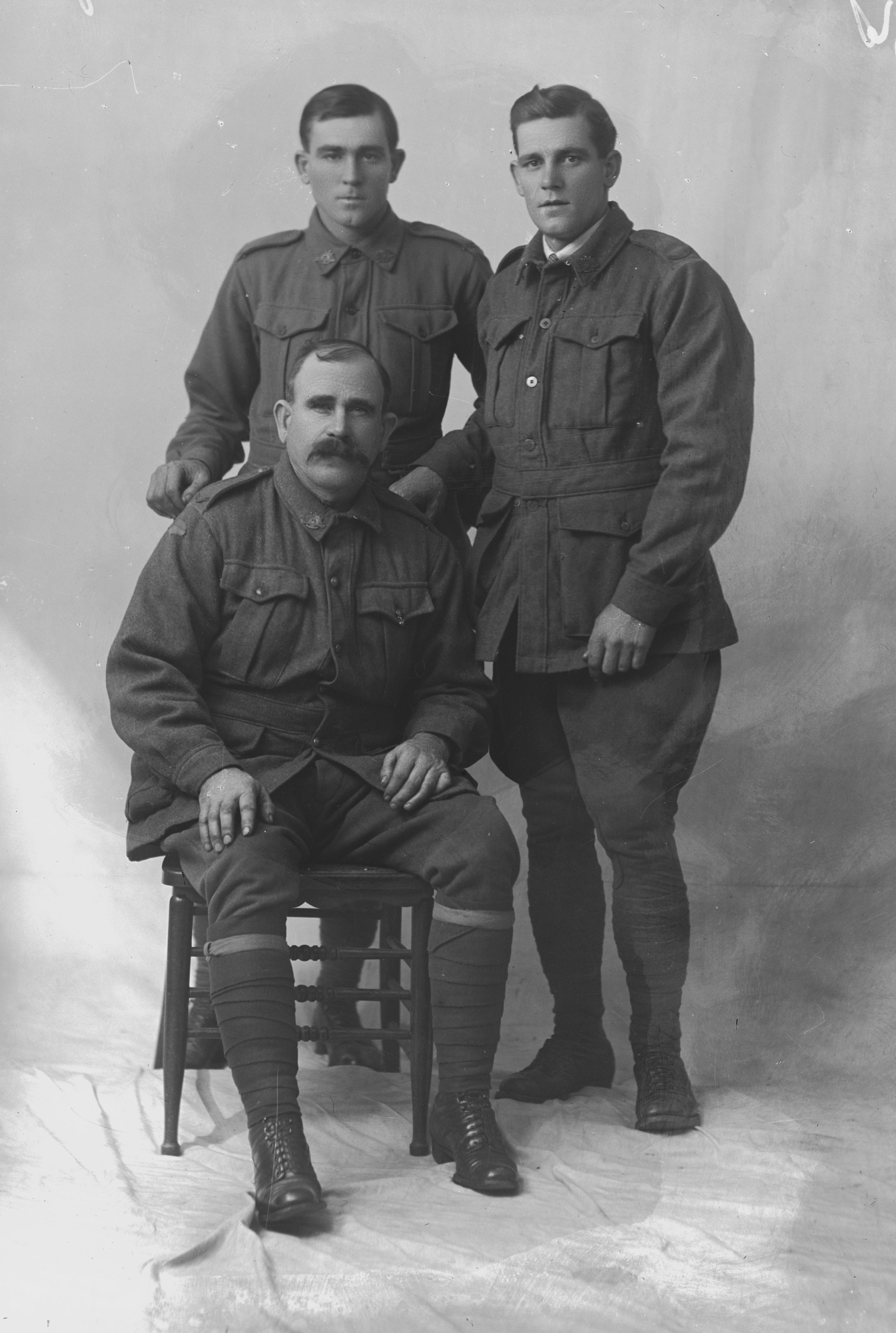 Photographed at the Dease Studio, 117 Barrack Street Perth WA Image courtesy of the State Library of Western Australia:  108219PD