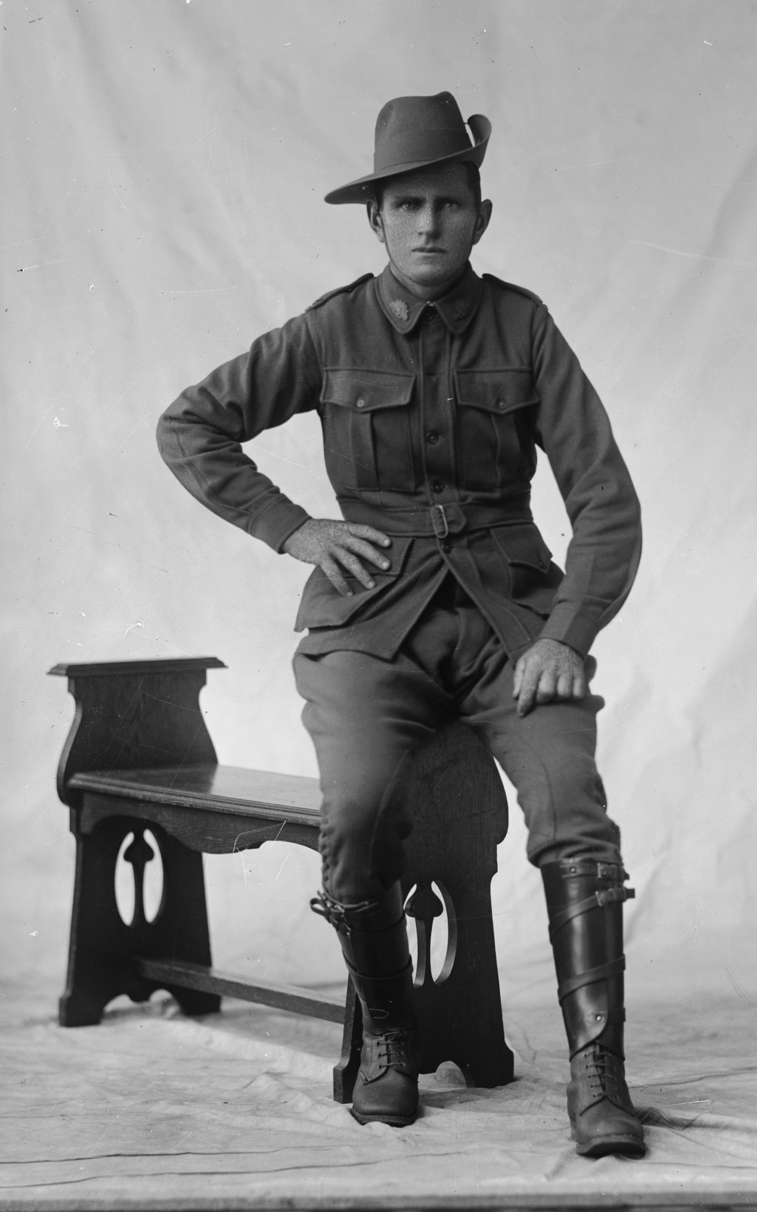 Photographed at the Dease Studio, 117 Barrack Street Perth WA Image courtesy of the State Library of Western Australia: 108209PD