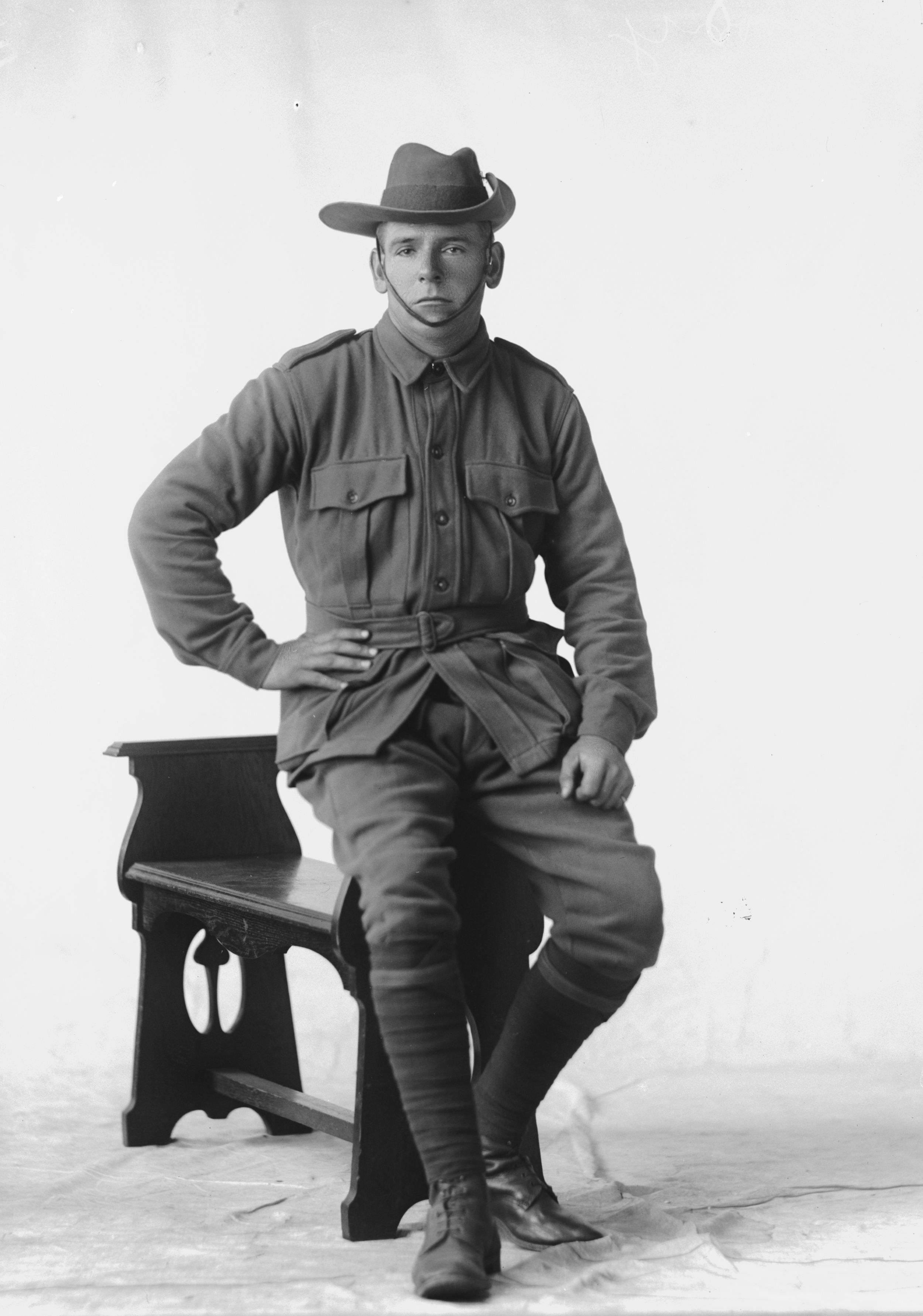 Photographed at the Dease Studio, 117 Barrack Street Perth WA Image courtesy of the State Library of Western Australia: 108210PD