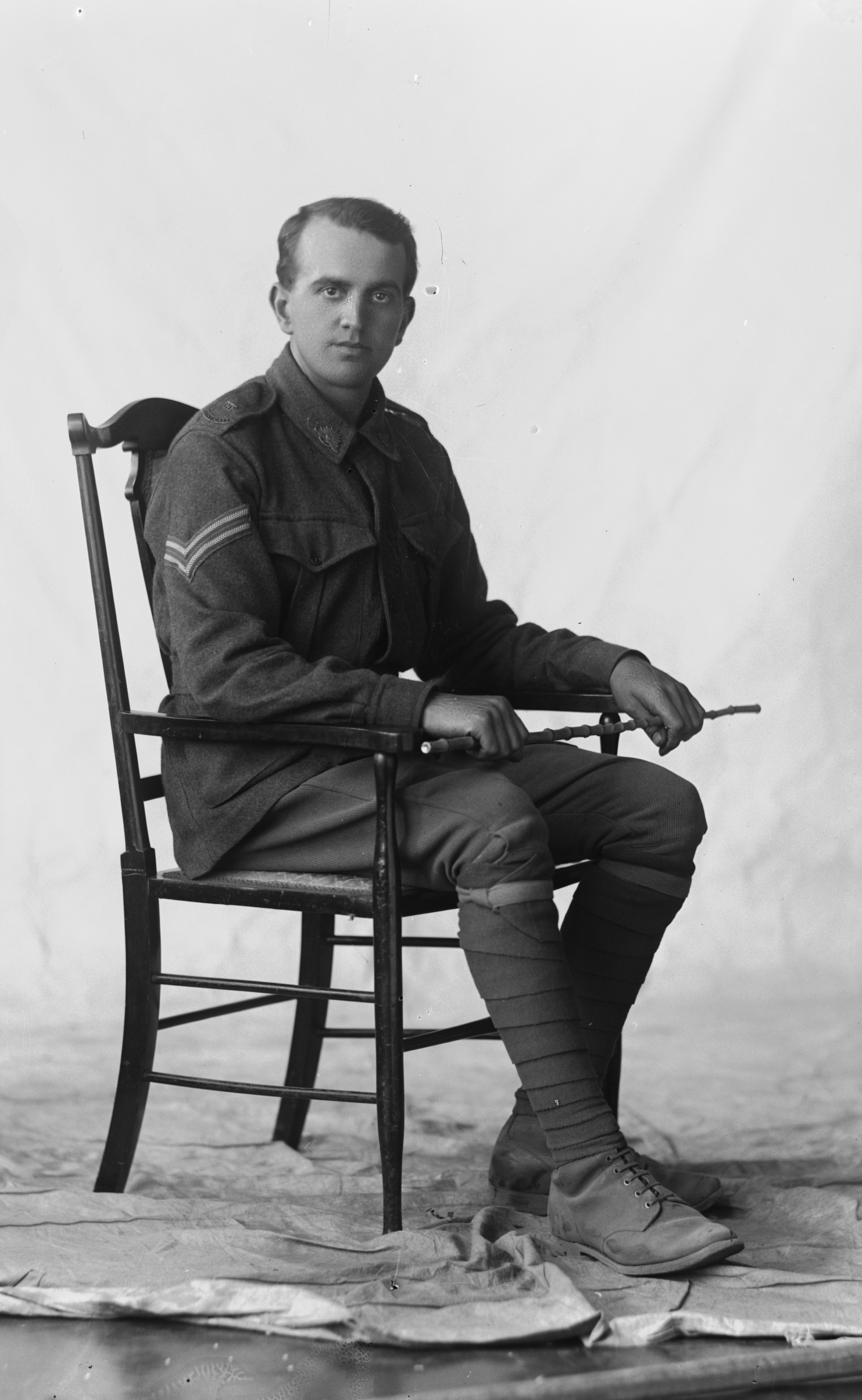 Photographed at the Dease Studio, 117 Barrack Street Perth WA Image courtesy of the State Library of Western Australia: 108473PD