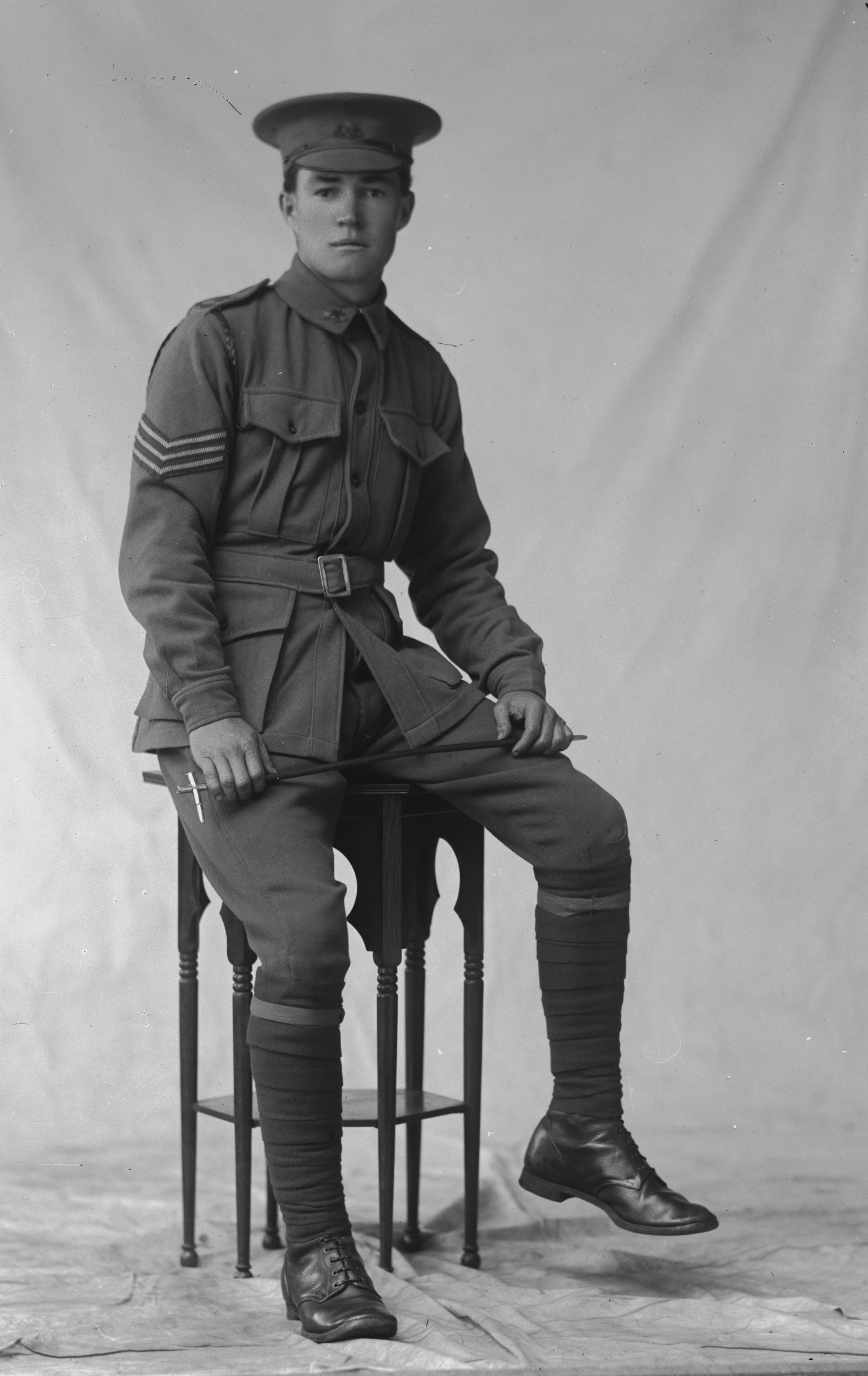 Photographed at the Dease Studio, 117 Barrack Street Perth WA Image courtesy of the State Library of Western Australia: 108070PD