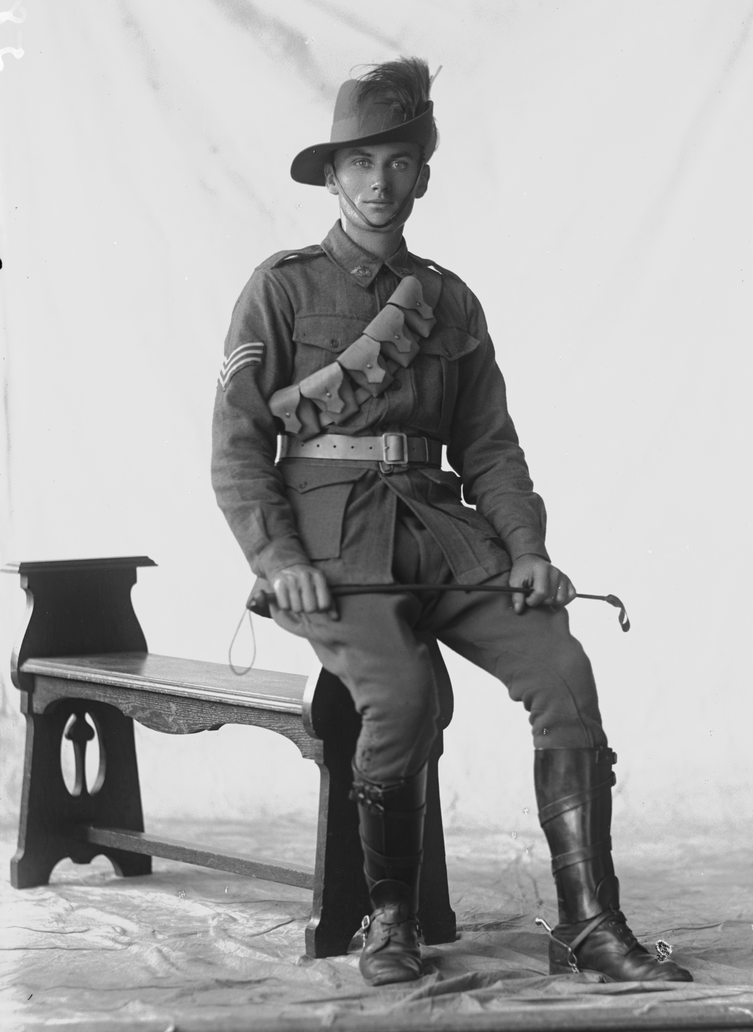Photographed at the Dease Studio, 117 Barrack Street Perth WA Image courtesy of the State Library of Western Australia: 108254PD