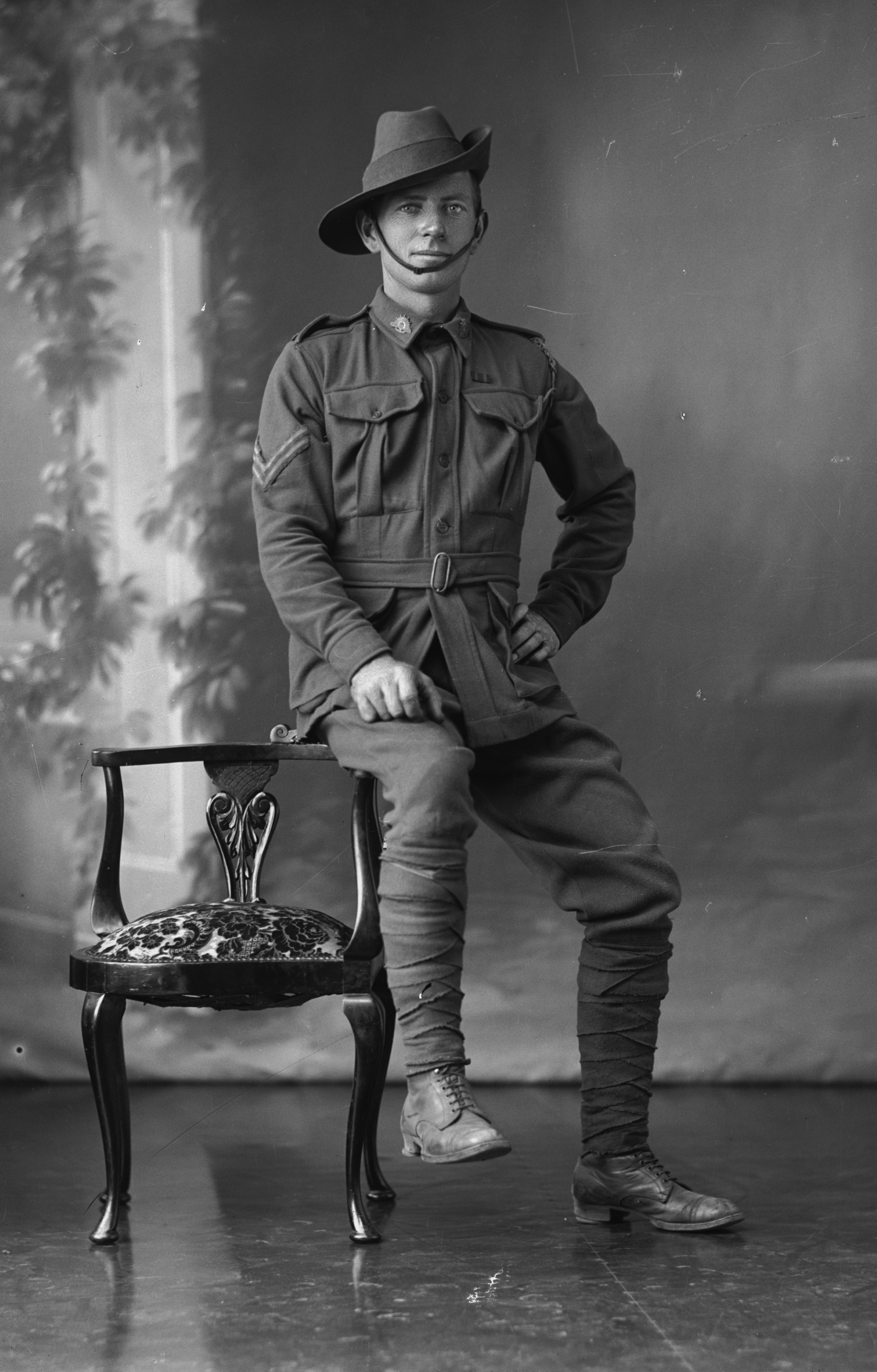 Photographed at the Dease Studio, 117 Barrack Street Perth WA Image courtesy of the State Library of Western Australia: 108386PD