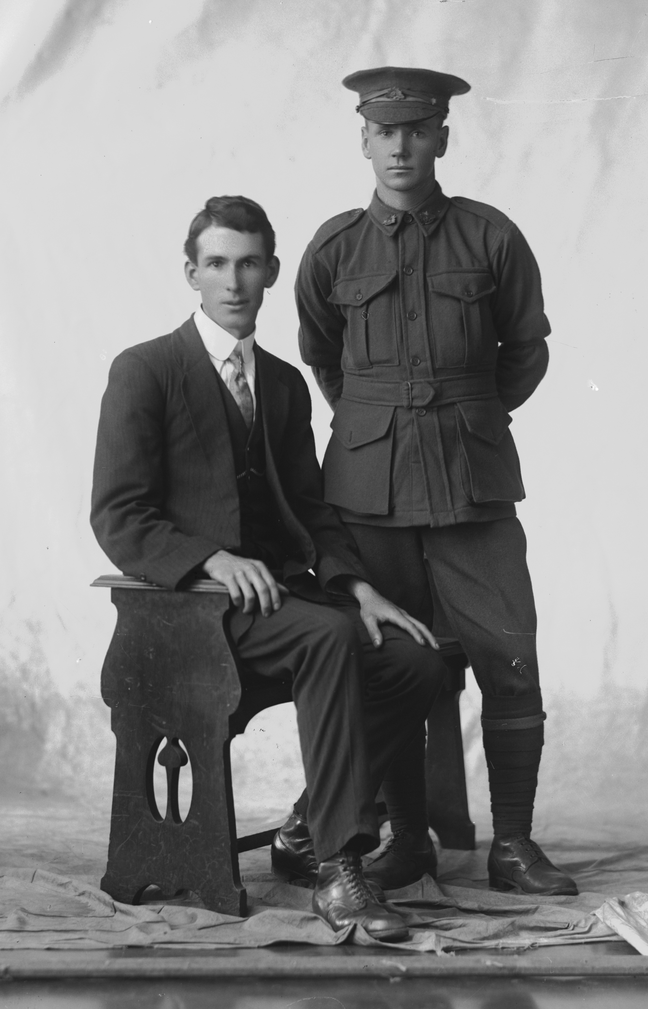 Photographed at the Dease Studio, 117 Barrack Street Perth WA Image courtesy of the State Library of Western Australia: 108603PD