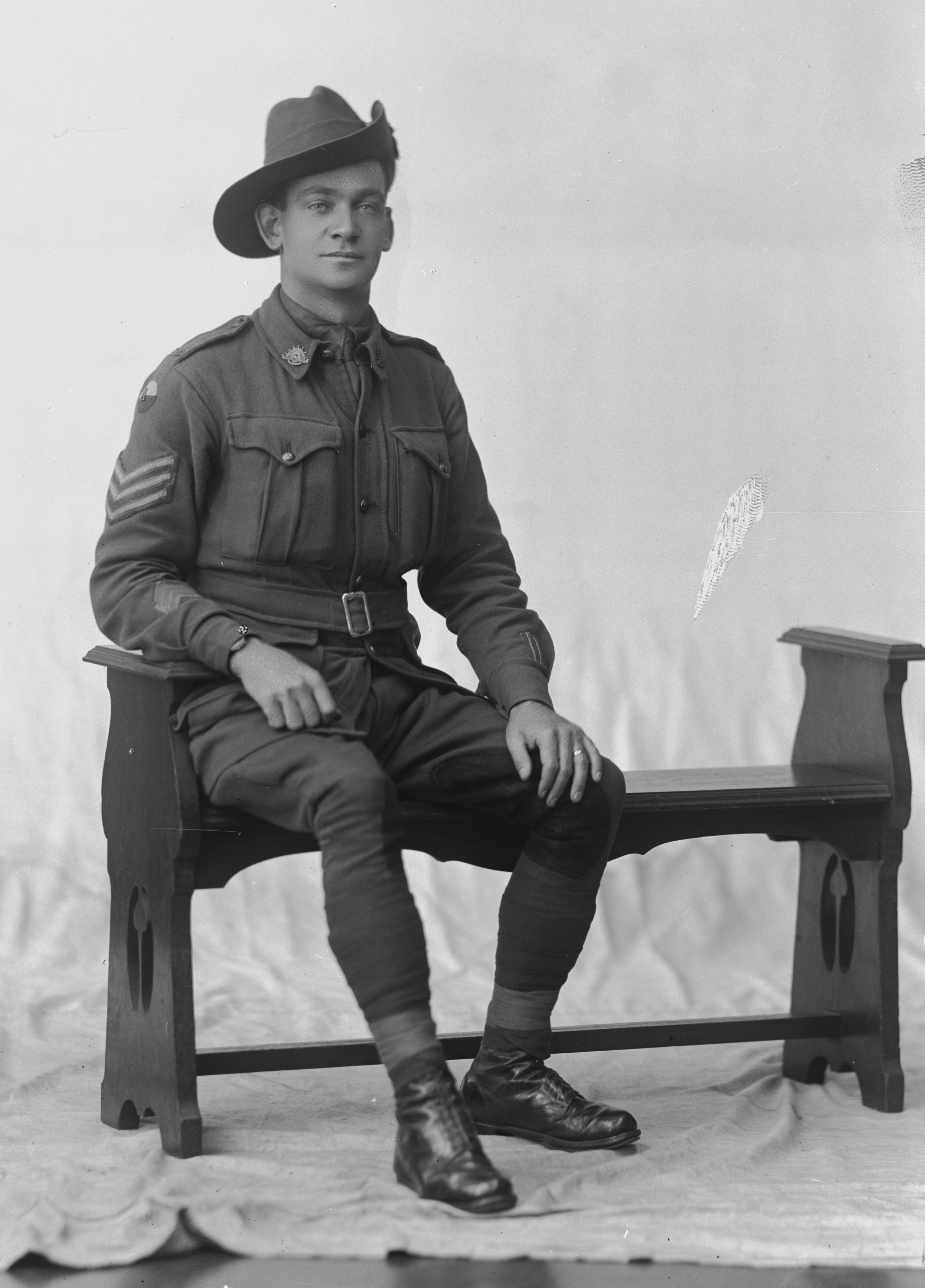 Photographed at the Dease Studio, 117 Barrack Street Perth WA Image courtesy of the State Library of Western Australia:108527PD