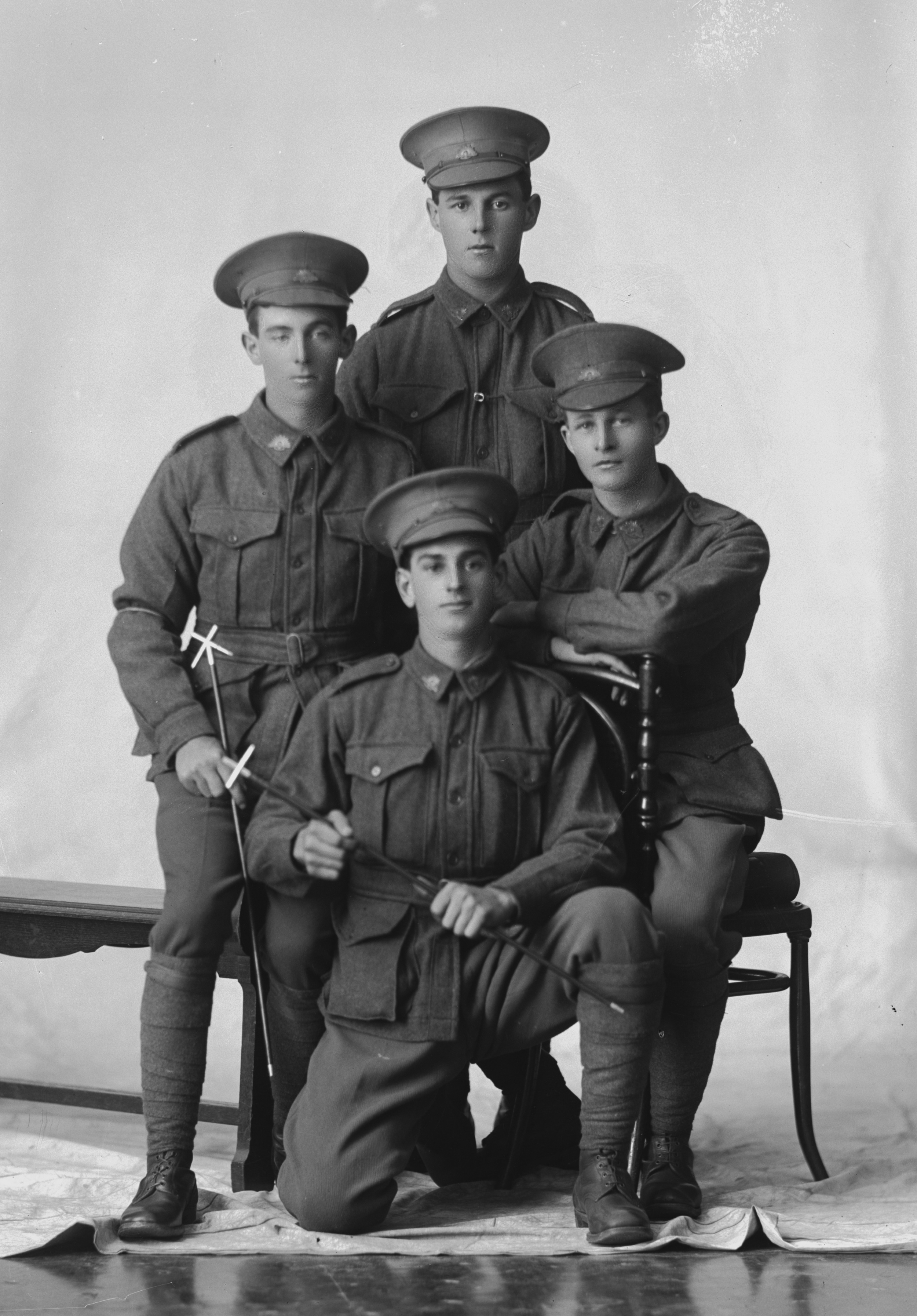 Photographed at the Dease Studio, 117 Barrack Street Perth WA Image courtesy of the State Library of Western Australia: 108057PD