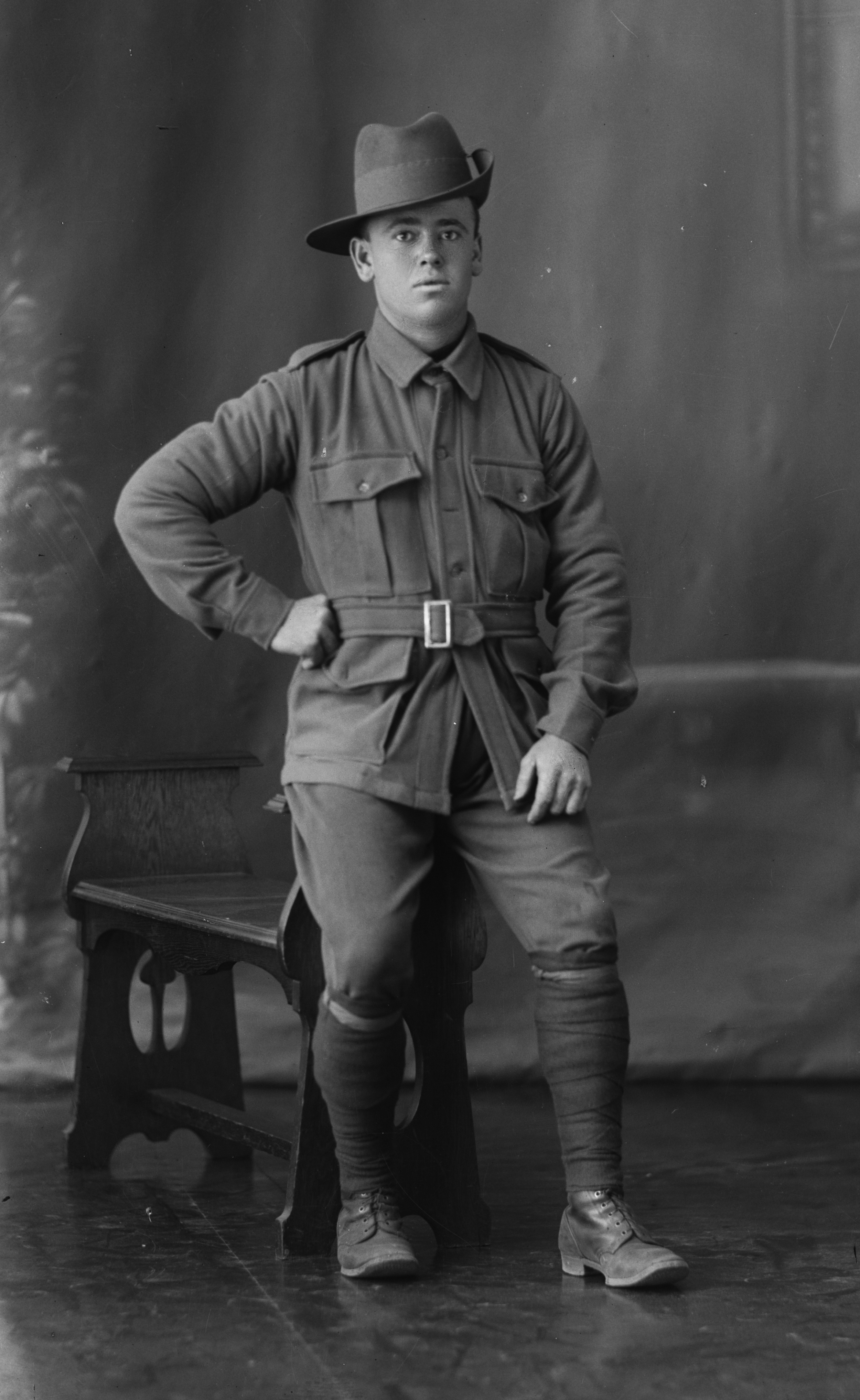 Photographed at the Dease Studio, 117 Barrack Street Perth WA Image courtesy of the State Library of Western Australia: 108315PD