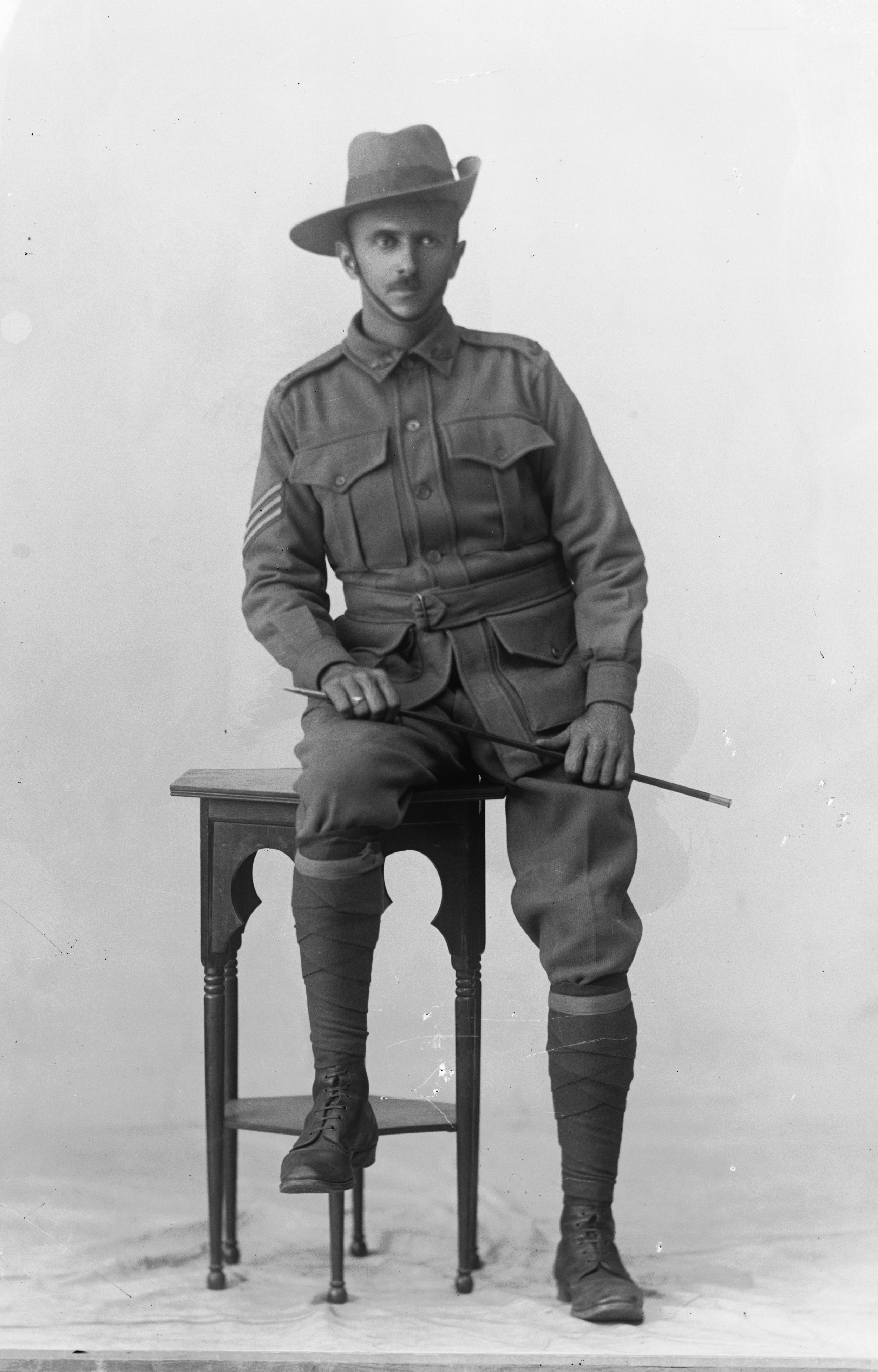 Photographed at the Dease Studio, 117 Barrack Street Perth WA Image courtesy of the State Library of Western Australia: 108698PD