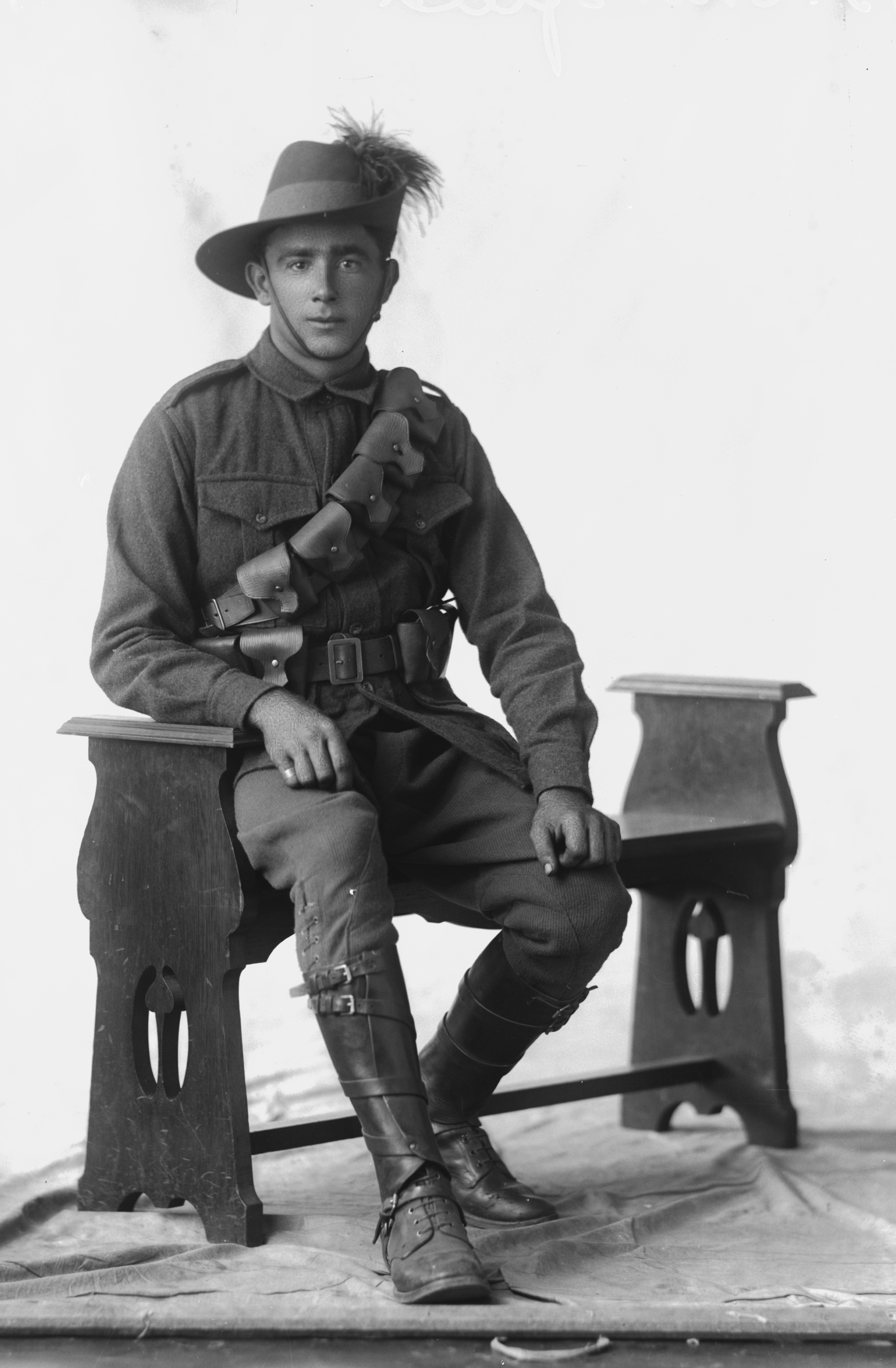 Photographed at the Dease Studio, 117 Barrack Street Perth WA Image courtesy of the State Library of Western Australia: 108460PD