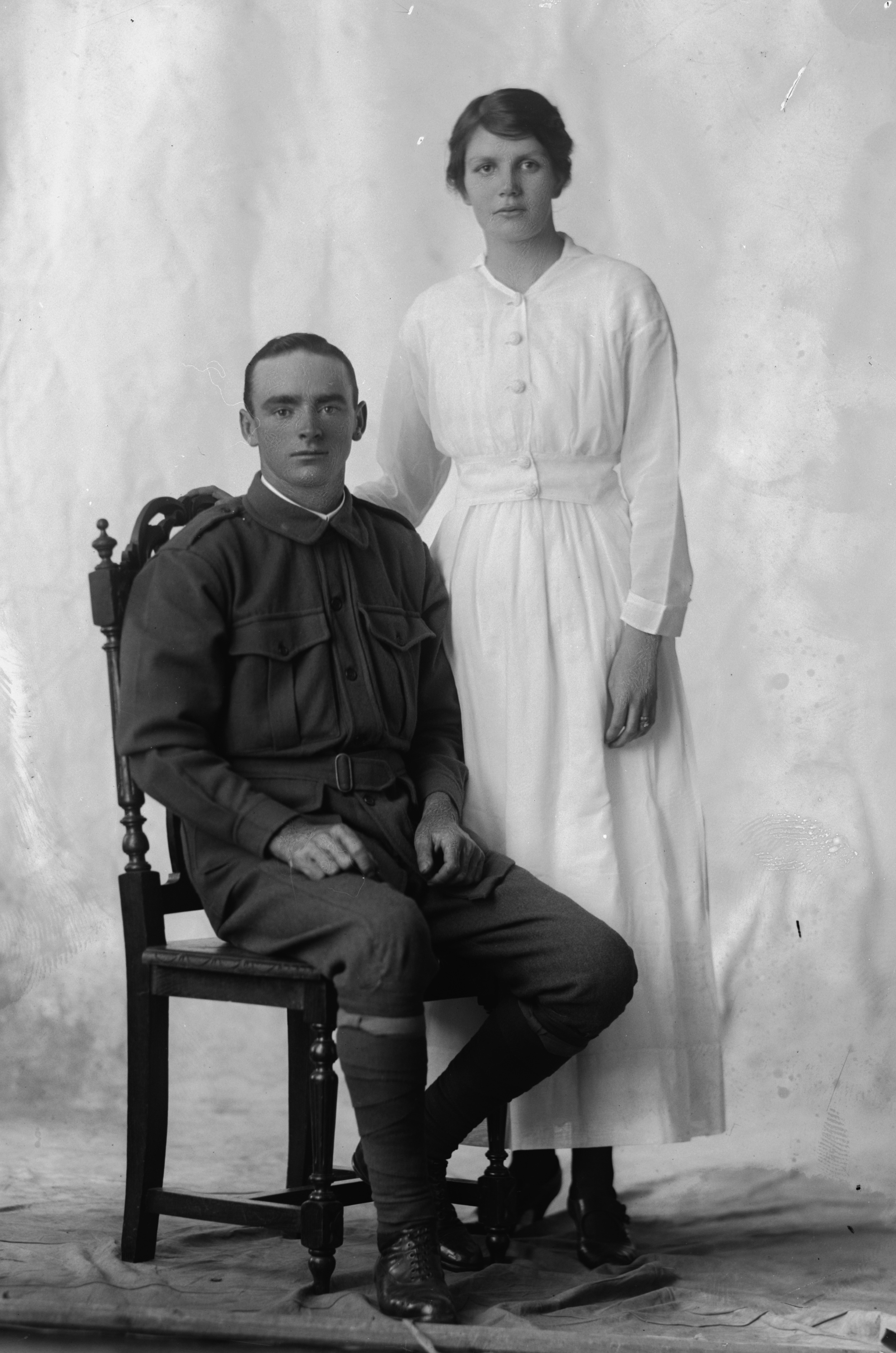 Photographed at the Dease Studio, 117 Barrack Street Perth WA Image courtesy of the State Library of Western Australia: 108622PD