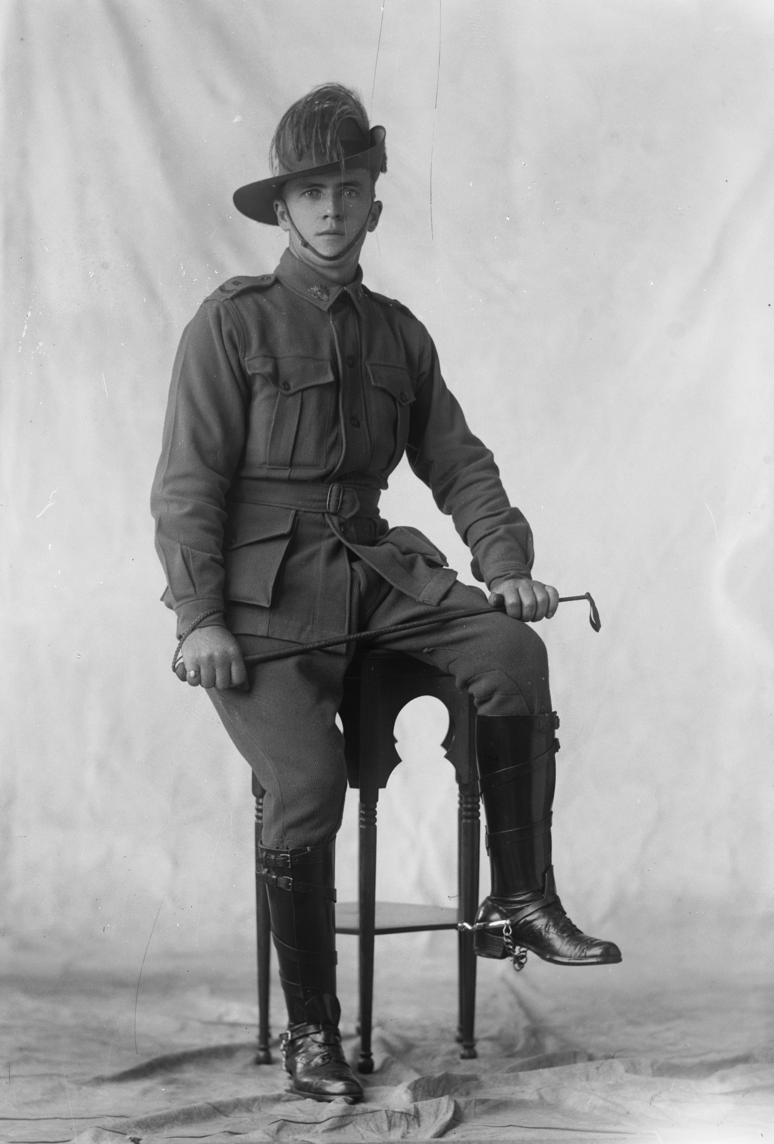 Photographed at the Dease Studio, 117 Barrack Street Perth WA Image courtesy of the State Library of Western Australia: 108029PD