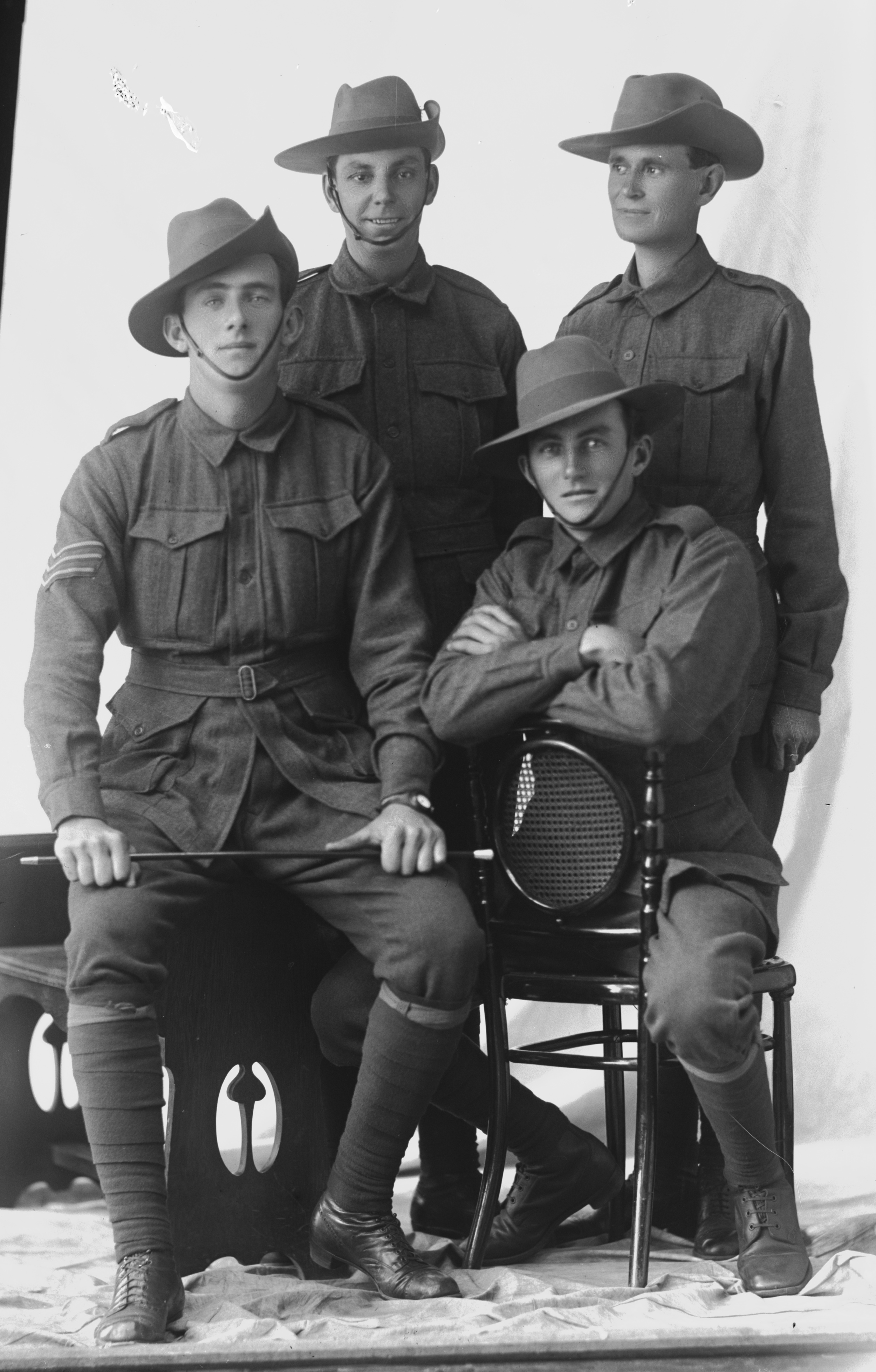 Photographed at the Dease Studio, 117 Barrack Street Perth WA Image courtesy of the State Library of Western Australia: 108255PD