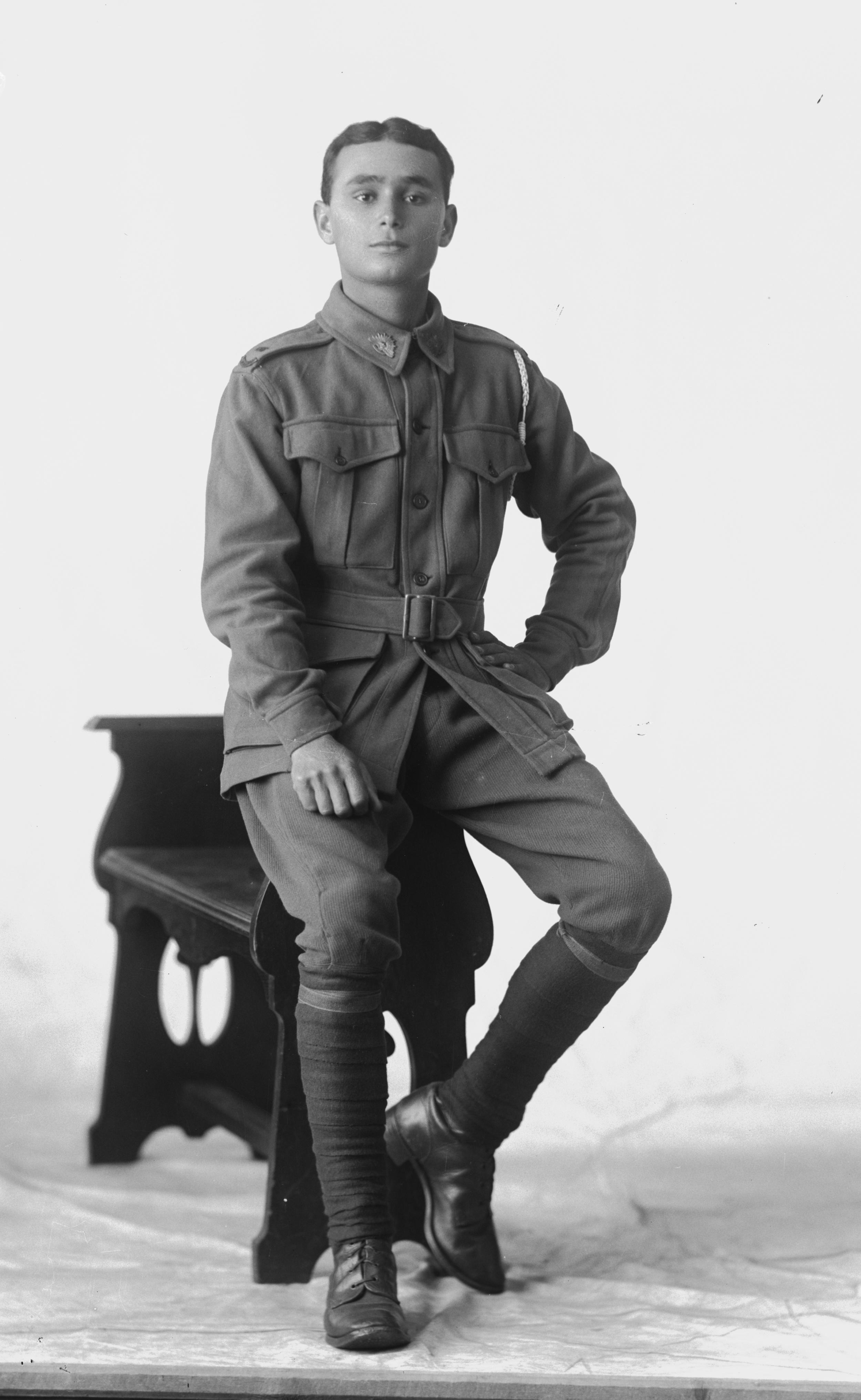 Photographed at the Dease Studio, 117 Barrack Street Perth WA Image courtesy of the State Library of Western Australia: 108539PD
