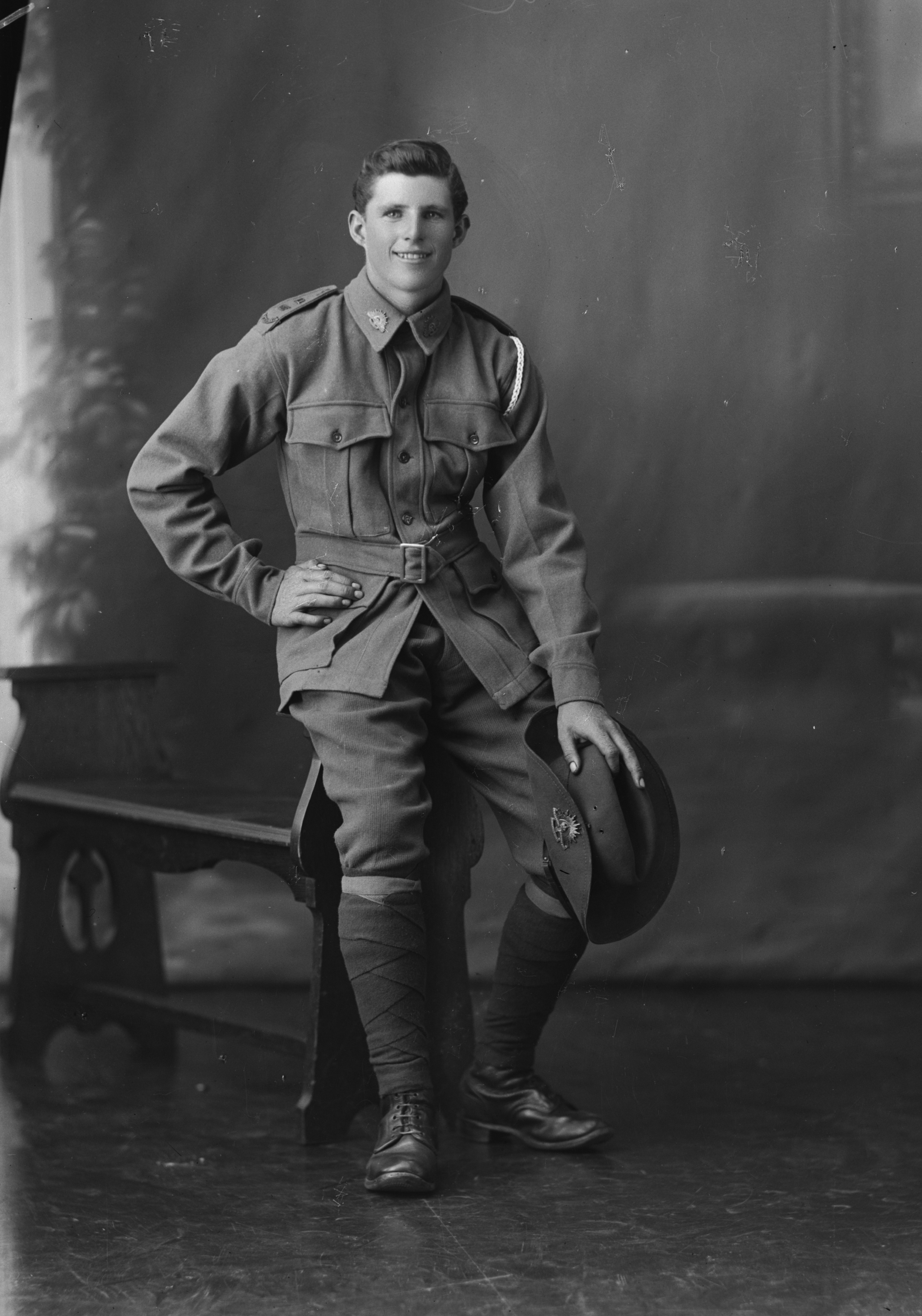 Photographed at the Dease Studio, 117 Barrack Street Perth WA Image courtesy of the State Library of Western Australia: 108037PD