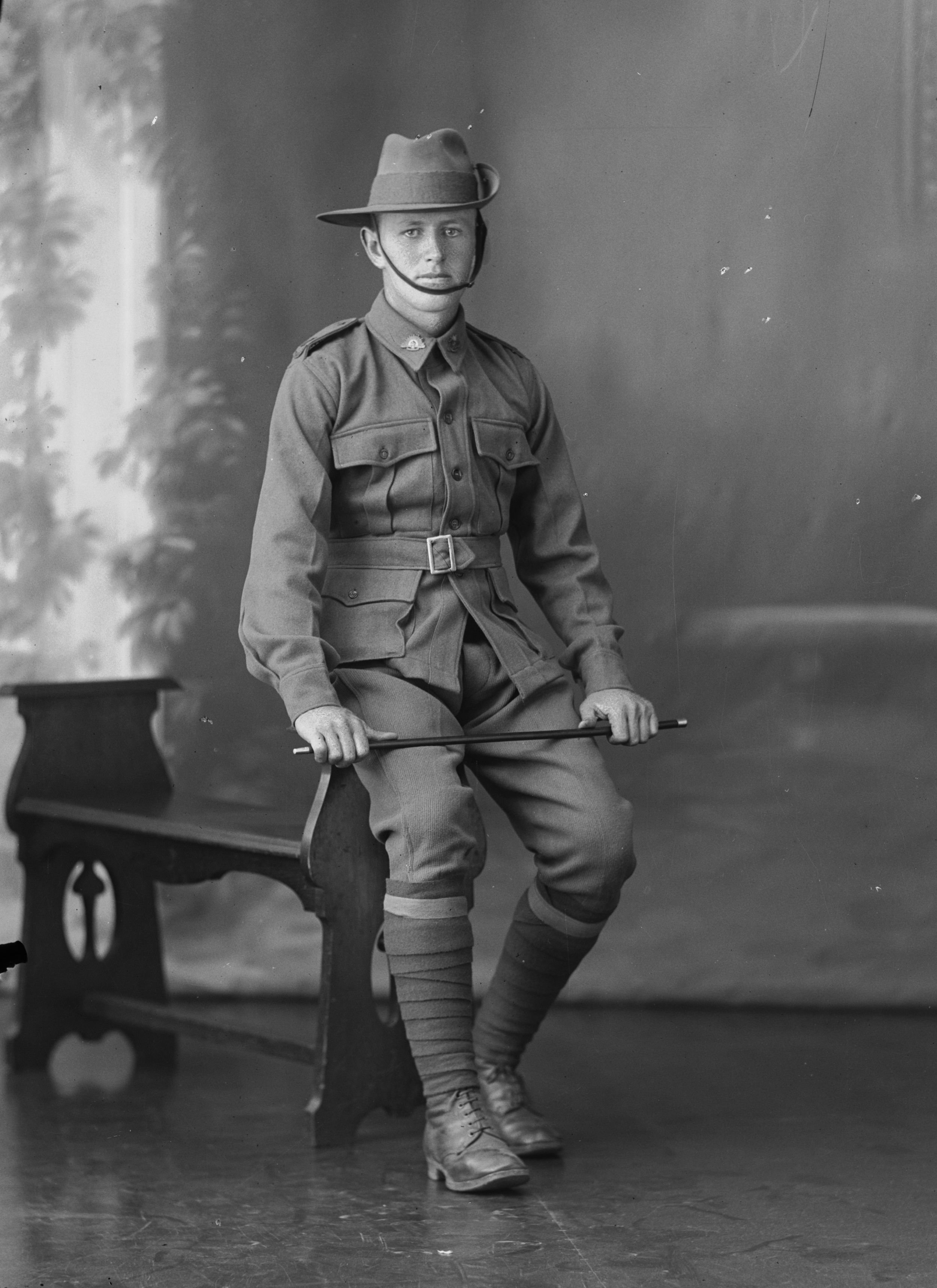 Photographed at the Dease Studio, 117 Barrack Street Perth WA Image courtesy of the State Library of Western Australia:108108PD