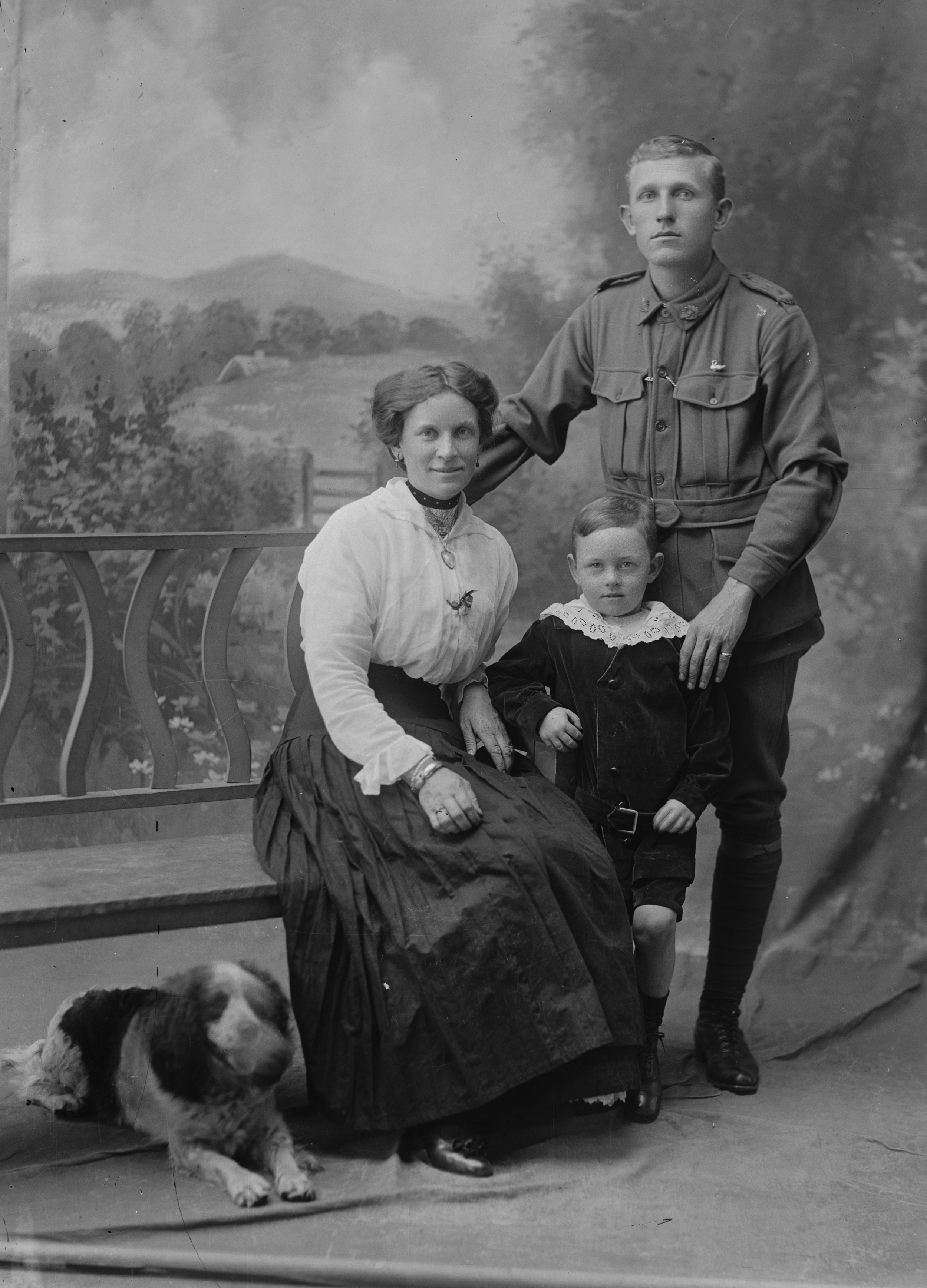 Photographed at the Dease Studio, 117 Barrack Street Perth WA Image courtesy of the State Library of Western Australia: 108715PD